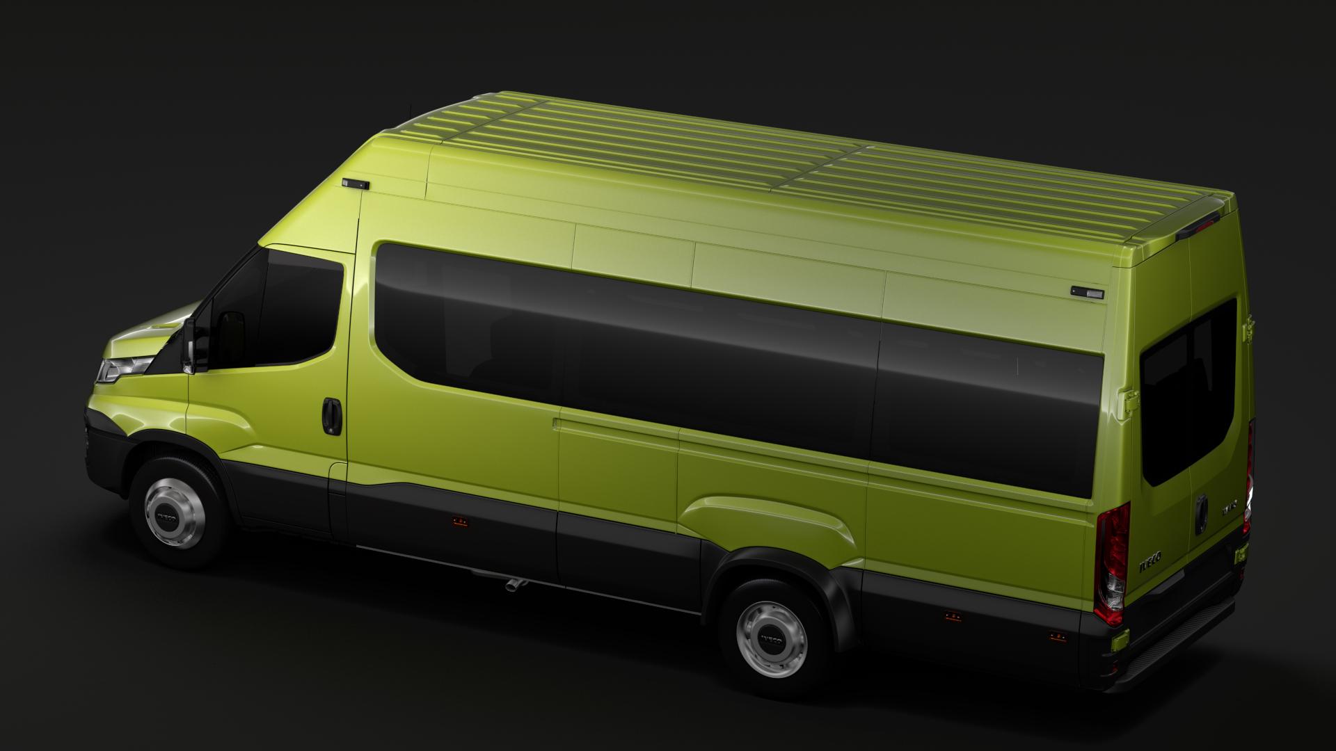 iveco daily tourus l4h3 2014-2016 3d model max fbx c4d lwo ma mb hrc xsi obj 276234