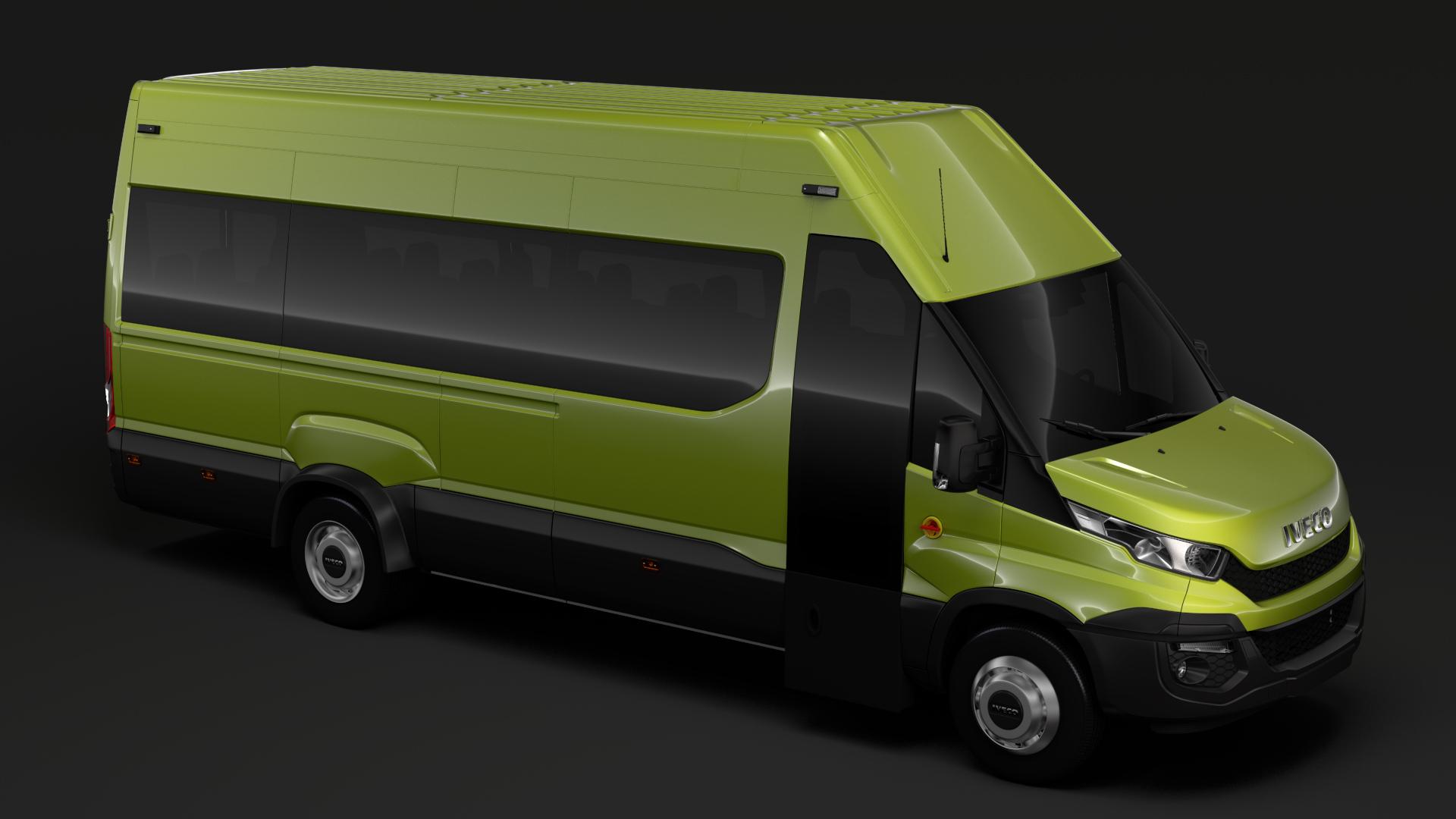 iveco daily tourus l4h3 2014-2016 3d model max fbx c4d lwo ma mb hrc xsi obj 276241