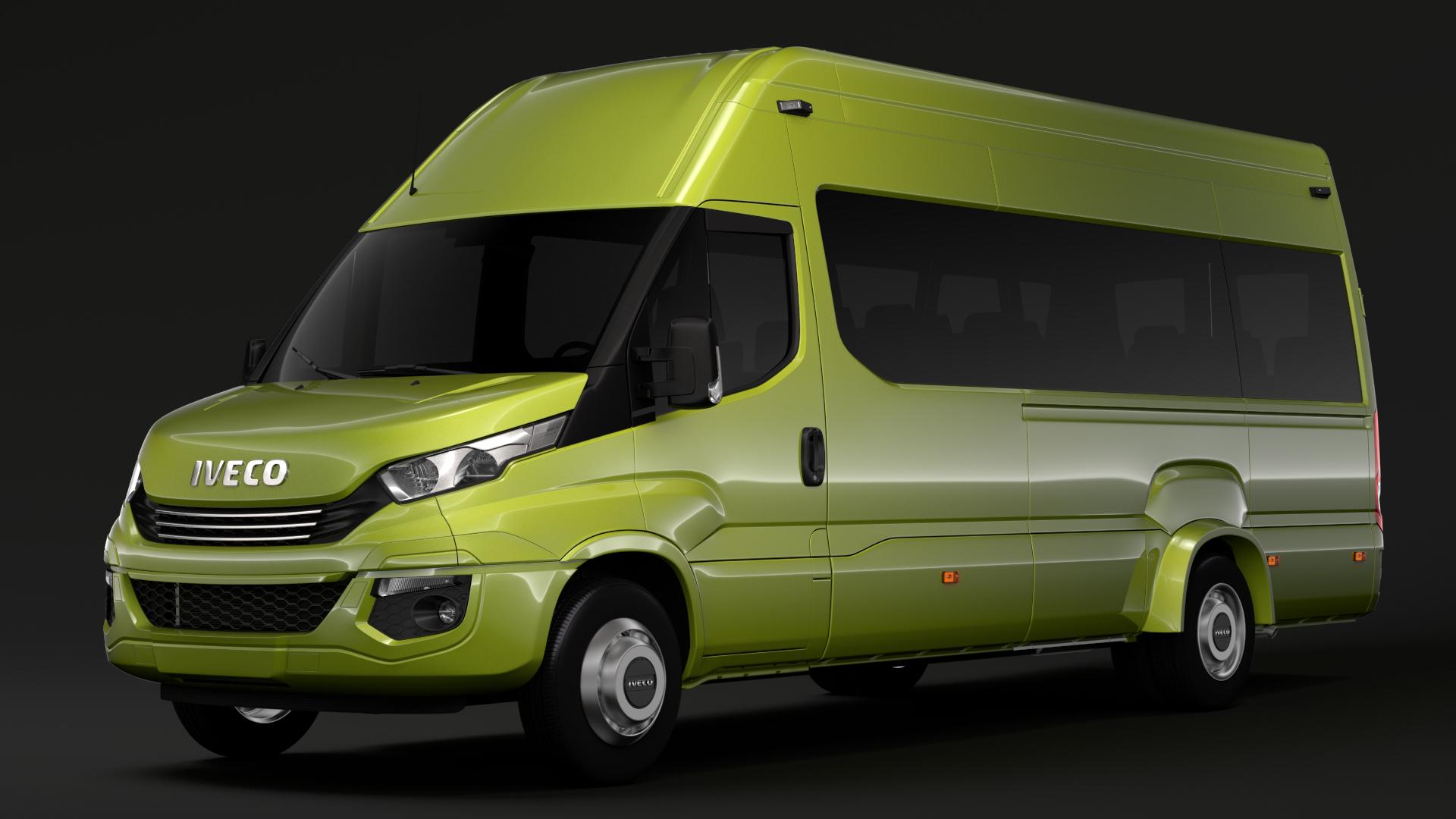 iveco daily tourus l4h3 2017 3d model max fbx c4d lwo ma mb hrc xsi obj 276265