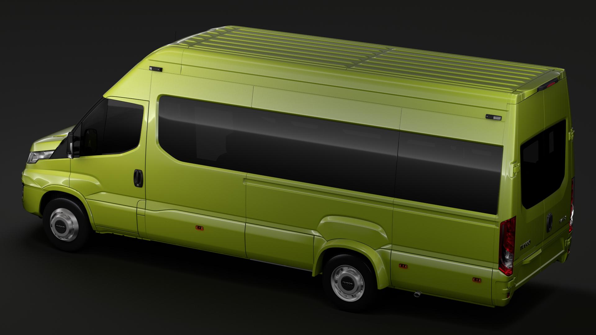 iveco daily tourus l4h3 2017 3d model max fbx c4d lwo ma mb hrc xsi obj 276271