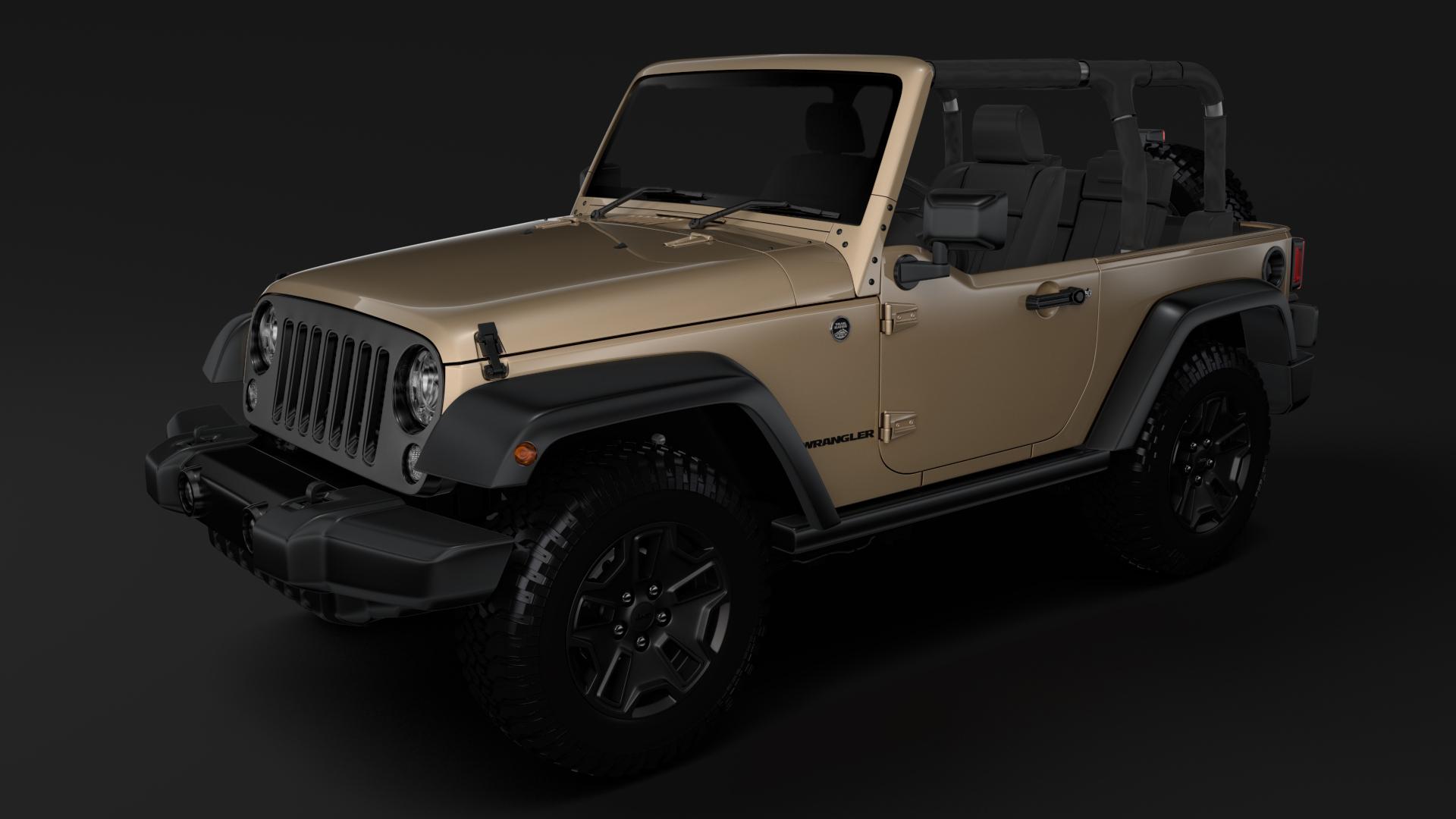 jeep wrangler willys wheeler jk 2017 3d model max fbx c4d lwo ma mb hrc xsi obj 276794