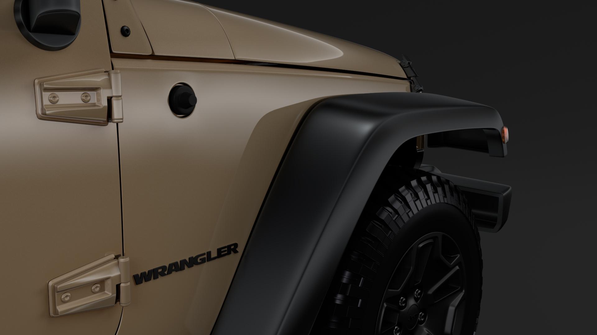 jeep wrangler willys wheeler jk 2017 3d model max fbx c4d lwo ma mb hrc xsi obj 276795