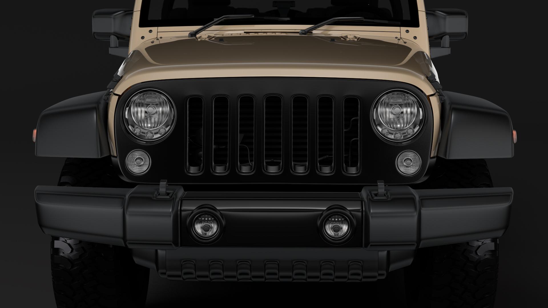 jeep wrangler willys wheeler jk 2017 3d model max fbx c4d lwo ma mb hrc xsi obj 276796