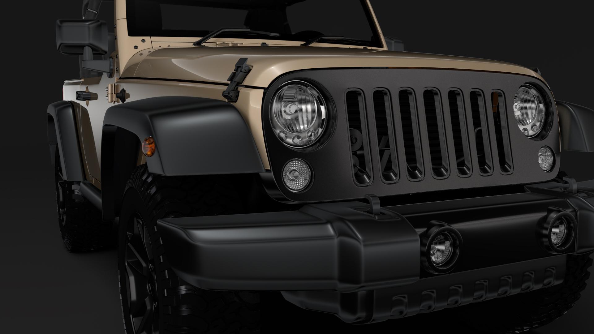 jeep wrangler willys wheeler jk 2017 3d model max fbx c4d lwo ma mb hrc xsi obj 276799