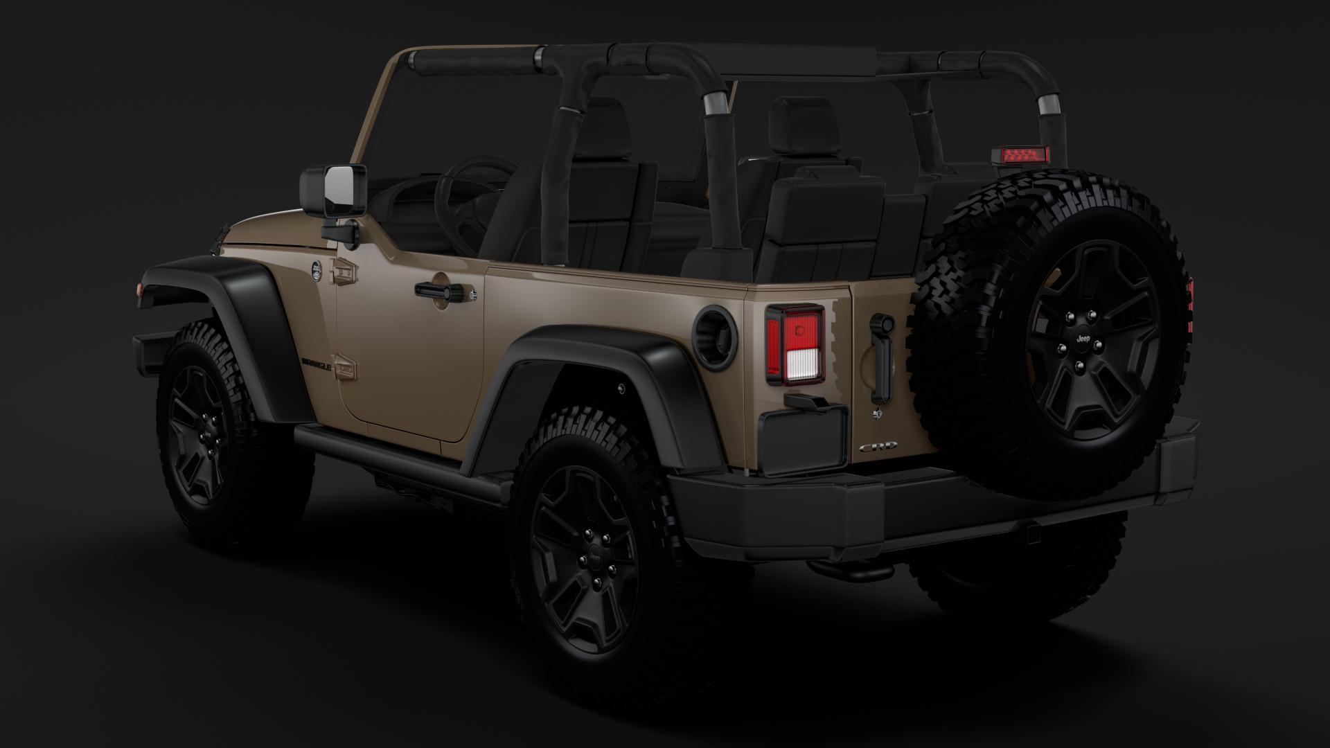 jeep wrangler willys wheeler jk 2017 3d model max fbx c4d lwo ma mb hrc xsi obj 276801