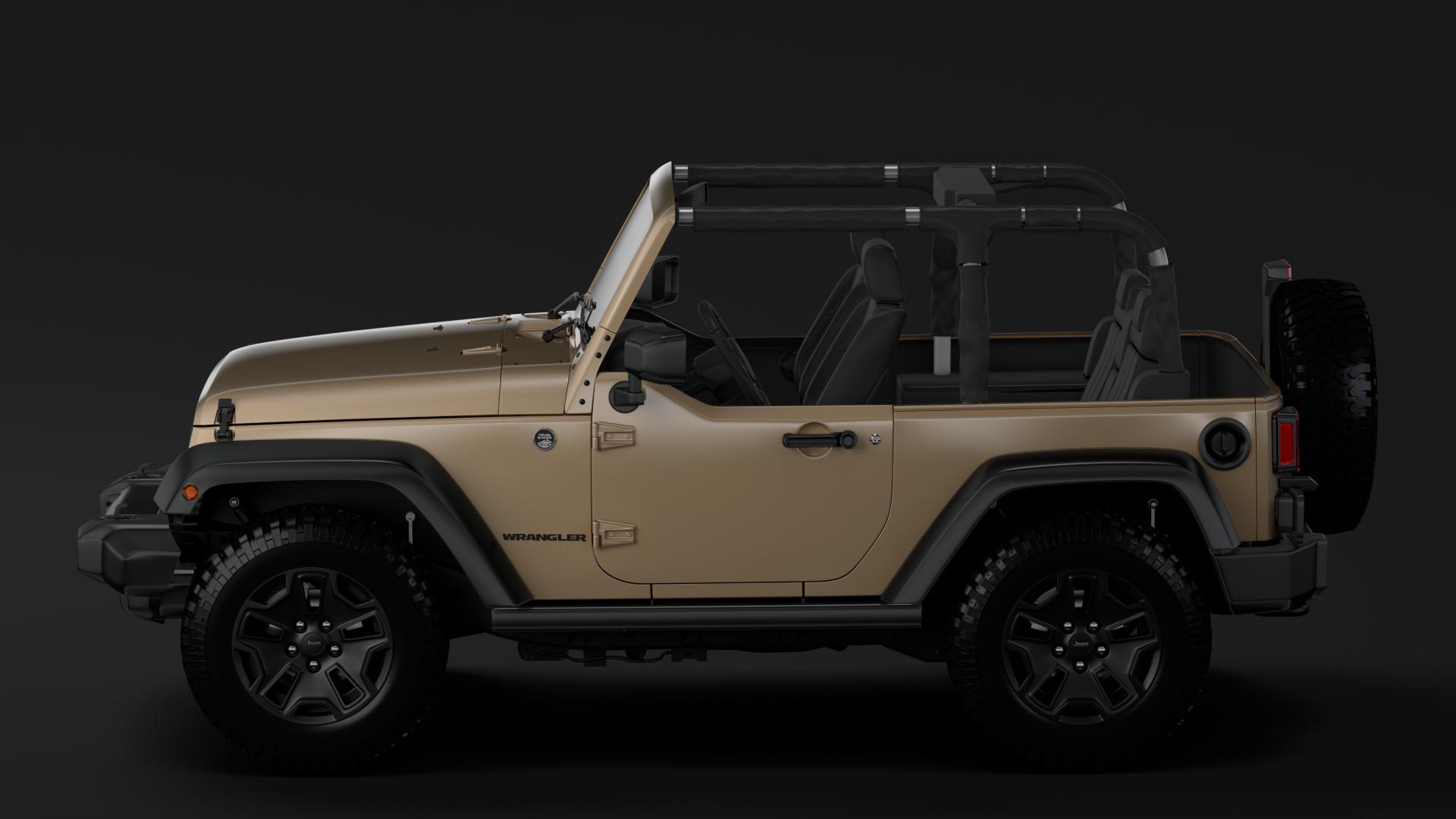 jeep wrangler willys wheeler jk 2017 3d model max fbx c4d lwo ma mb hrc xsi obj 276802