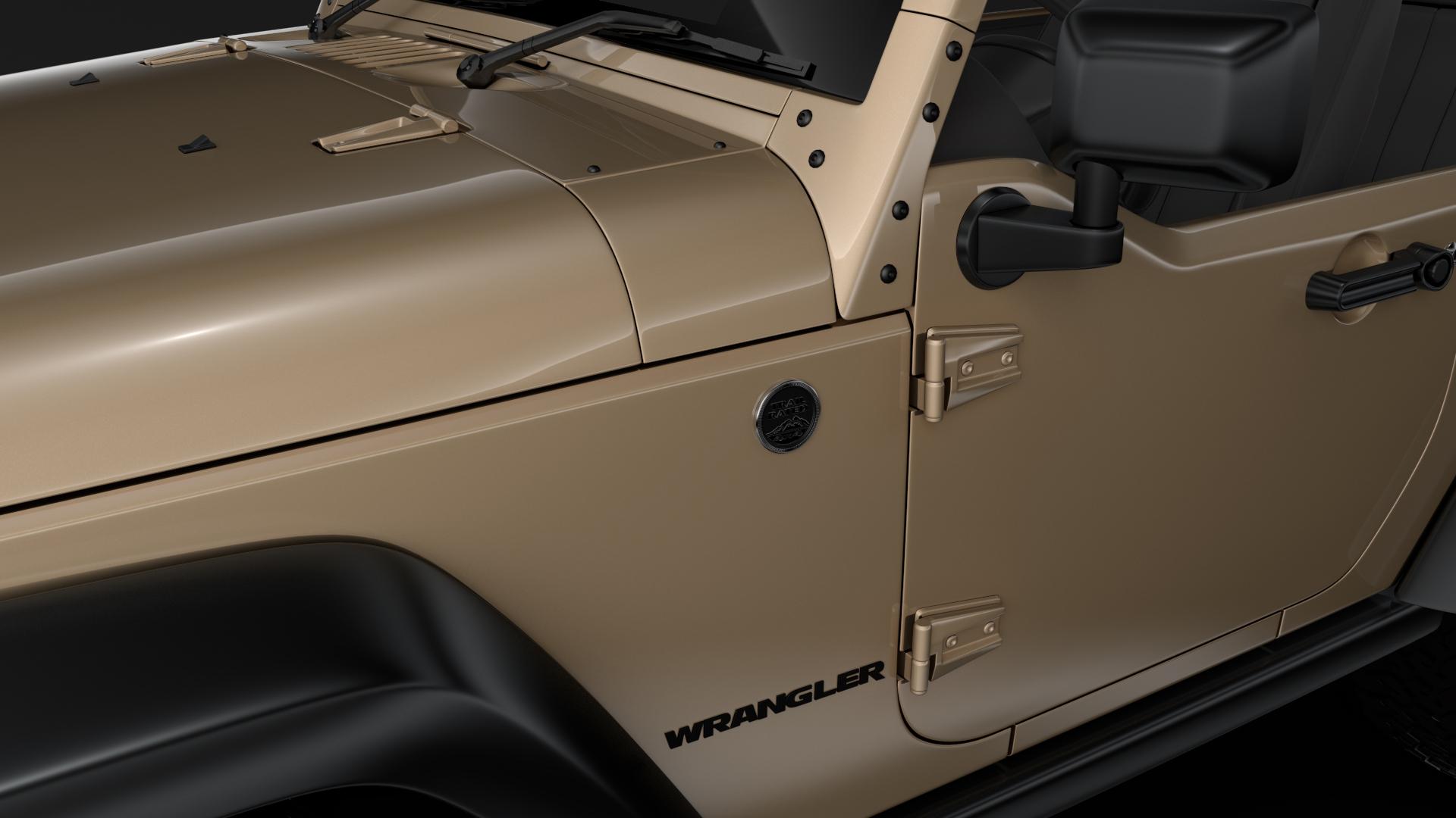 jeep wrangler willys wheeler jk 2017 3d model max fbx c4d lwo ma mb hrc xsi obj 276803