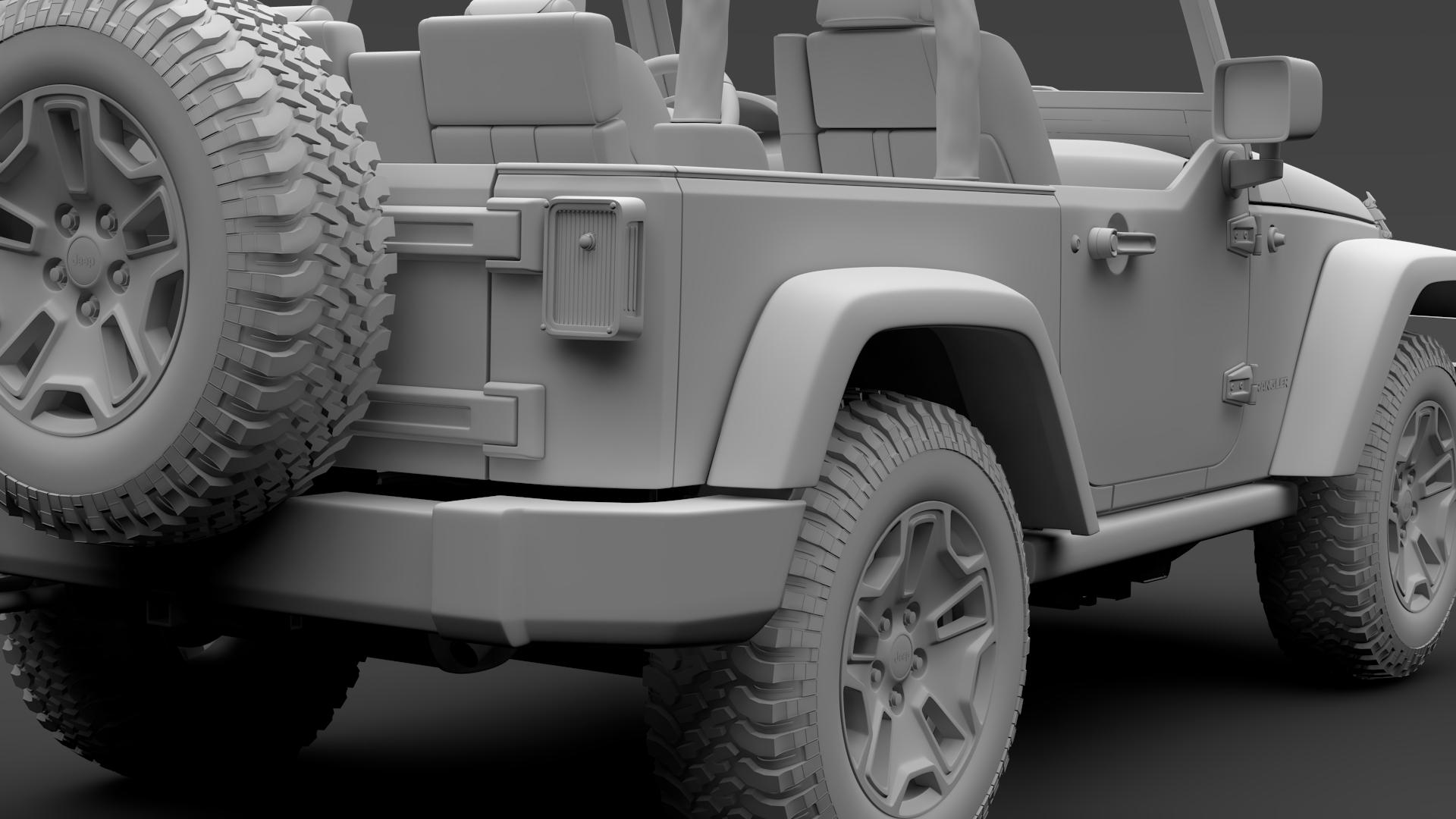 jeep wrangler willys wheeler jk 2017 3d model max fbx c4d lwo ma mb hrc xsi obj 276809