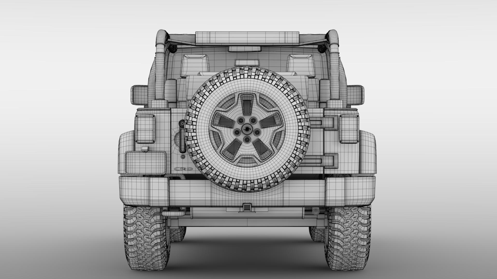 jeep wrangler willys wheeler jk 2017 3d model max fbx c4d lwo ma mb hrc xsi obj 276811