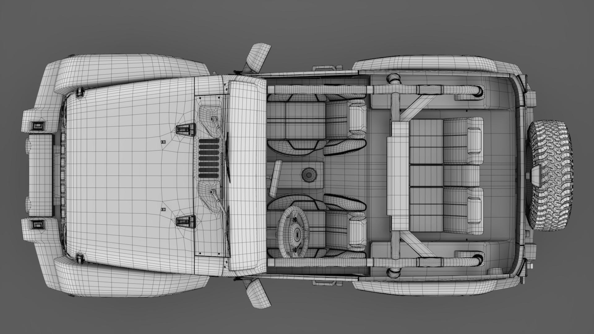 jeep wrangler willys wheeler jk 2017 3d model max fbx c4d lwo ma mb hrc xsi obj 276813
