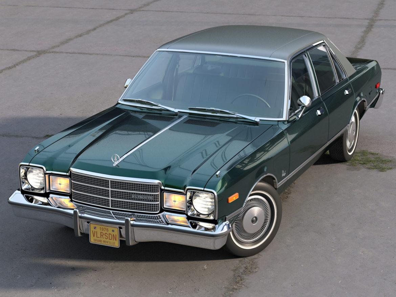 plymouth volare 1976 3d modell 3ds fbx c4d obj 276826