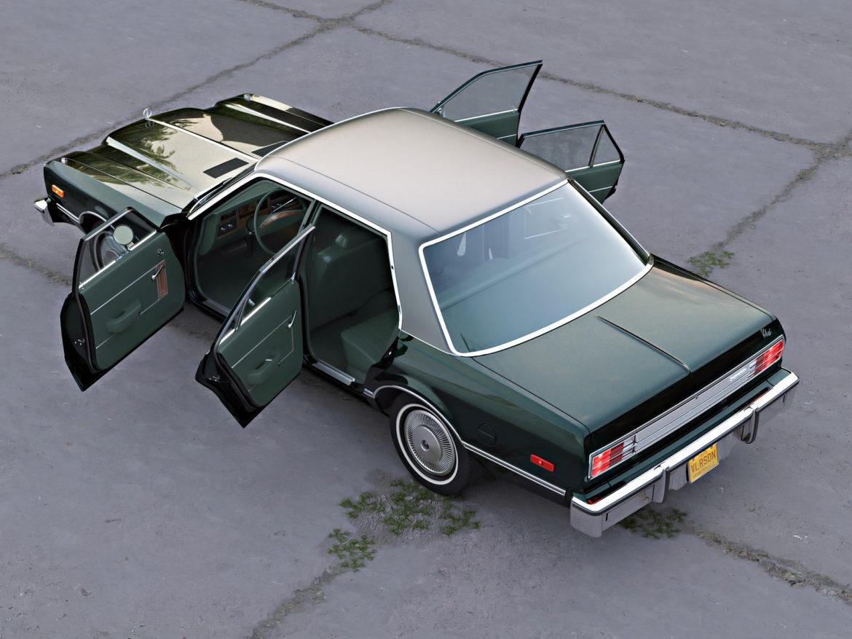 plymouth volare 1976 3d modell 3ds fbx c4d obj 276832