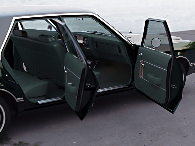plymouth volare 1976 3d modell 3ds fbx c4d obj 276833