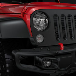 Jeep Wrangler 6x6 Rubicon Recon JK 2017 3d model 0