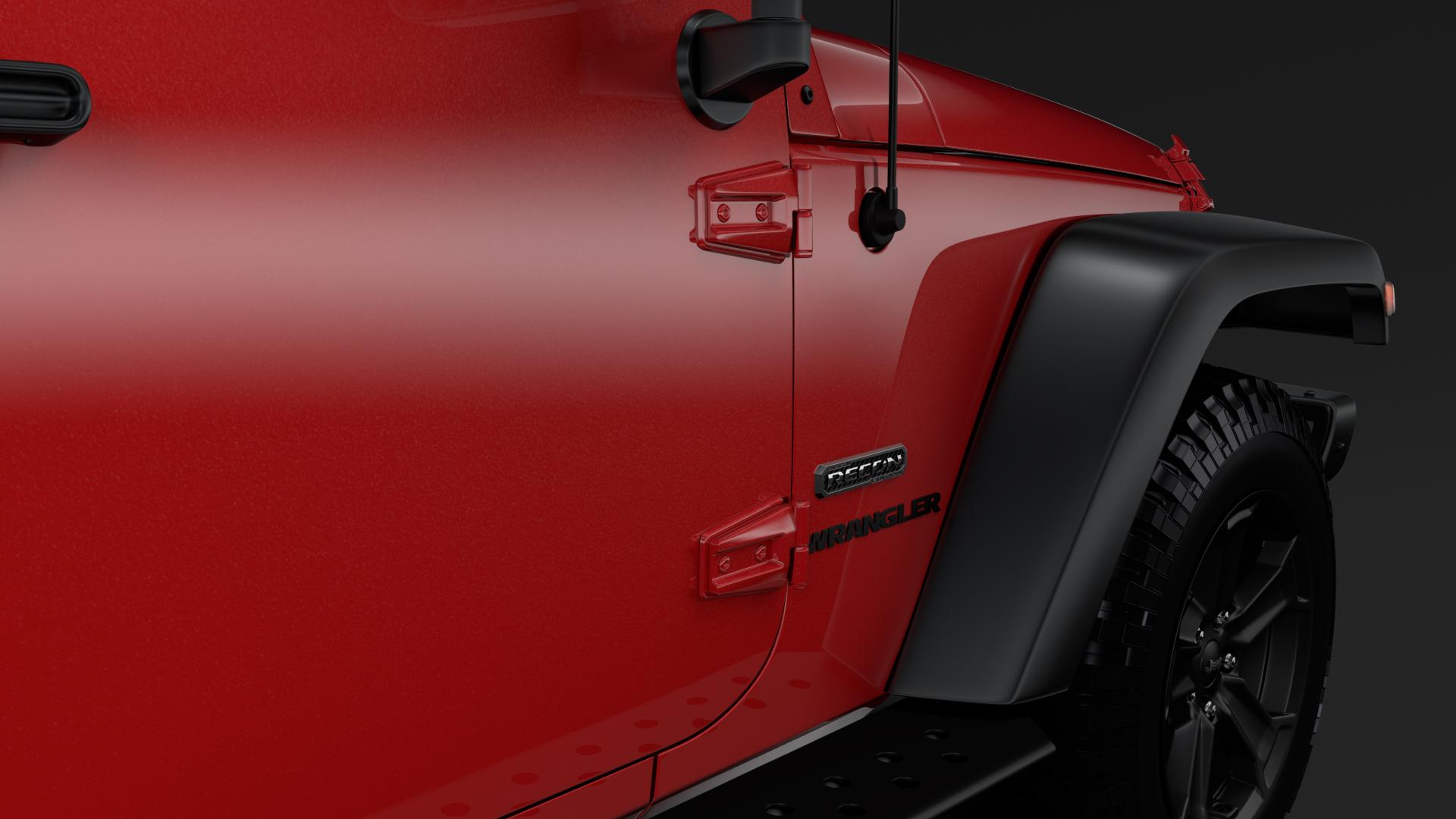 jeep wrangler 6×6 rubicon recon jk 2017 3d model max fbx c4d lwo ma mb hrc xsi obj 276840