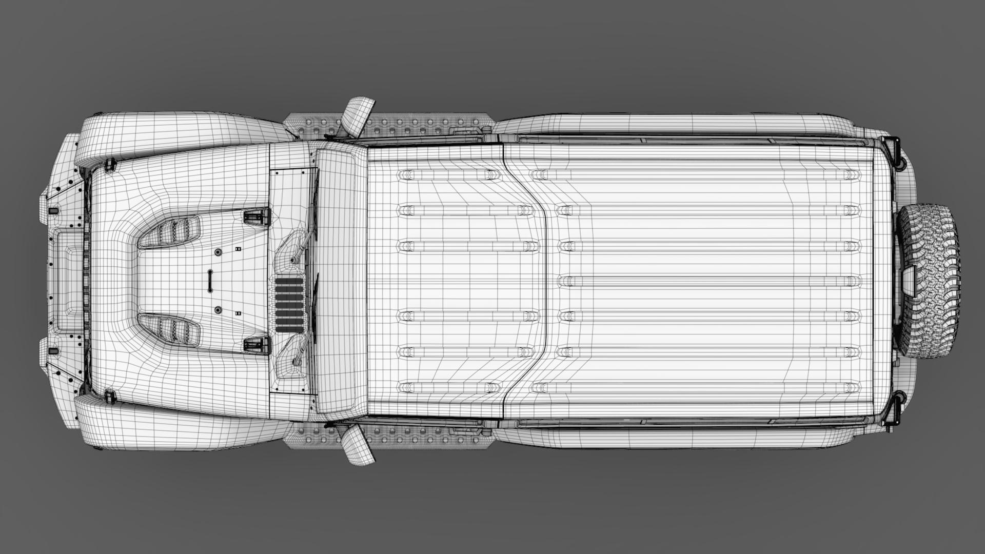 jeep wrangler 6×6 rubicon recon jk 2017 3d model max fbx c4d lwo ma mb hrc xsi obj 276856