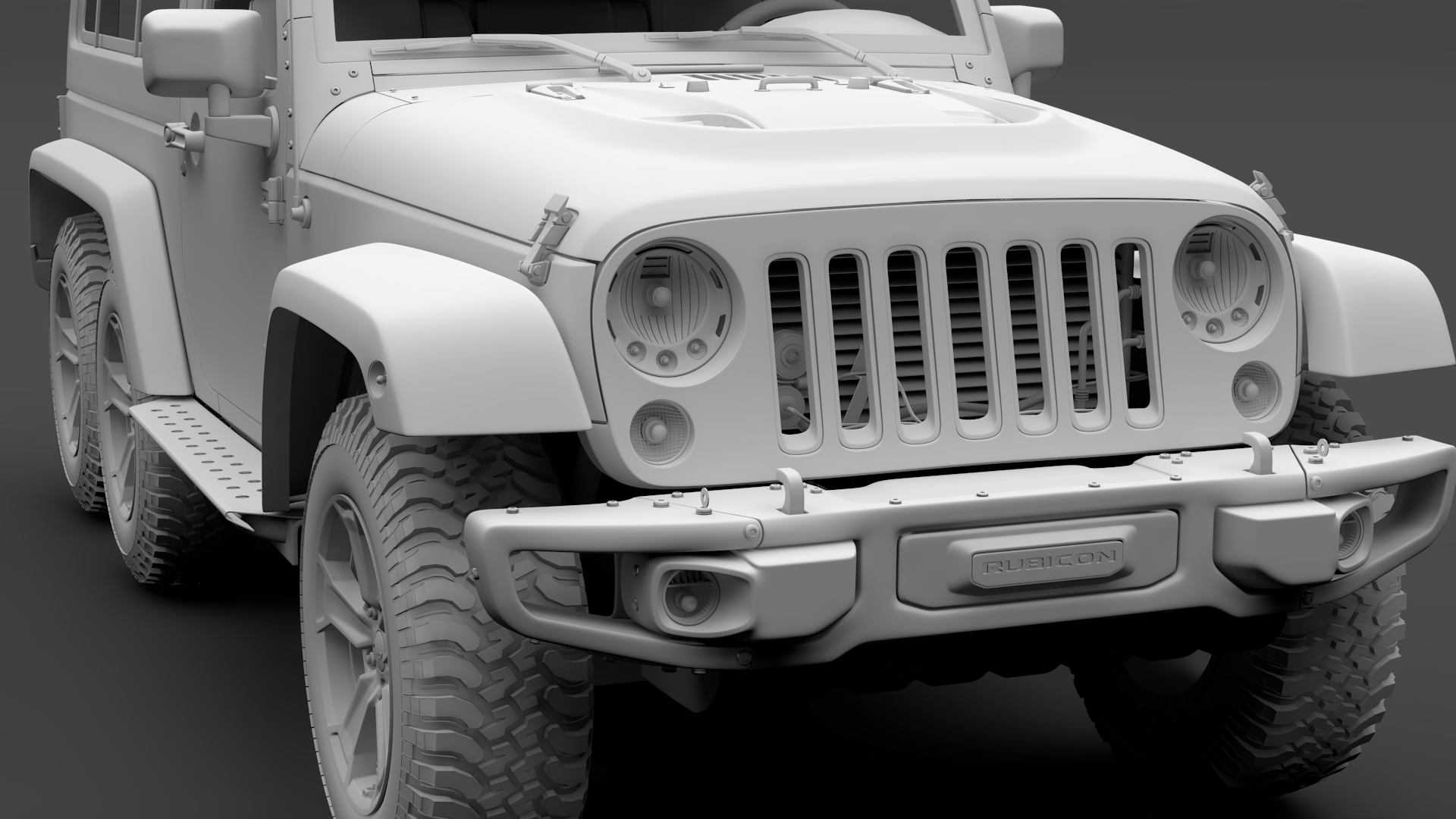 jeep wrangler 6×6 rubicon recon jk 2017 3d model max fbx c4d lwo ma mb hrc xsi obj 276858