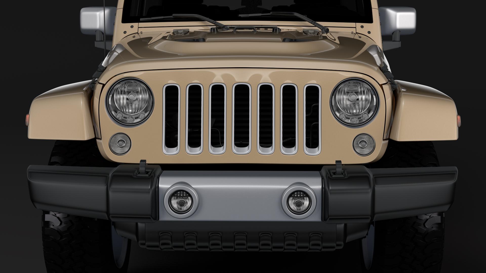 jeep wrangler chief jk 2017 3d model max fbx c4d lwo ma mb hrc xsi obj 276875