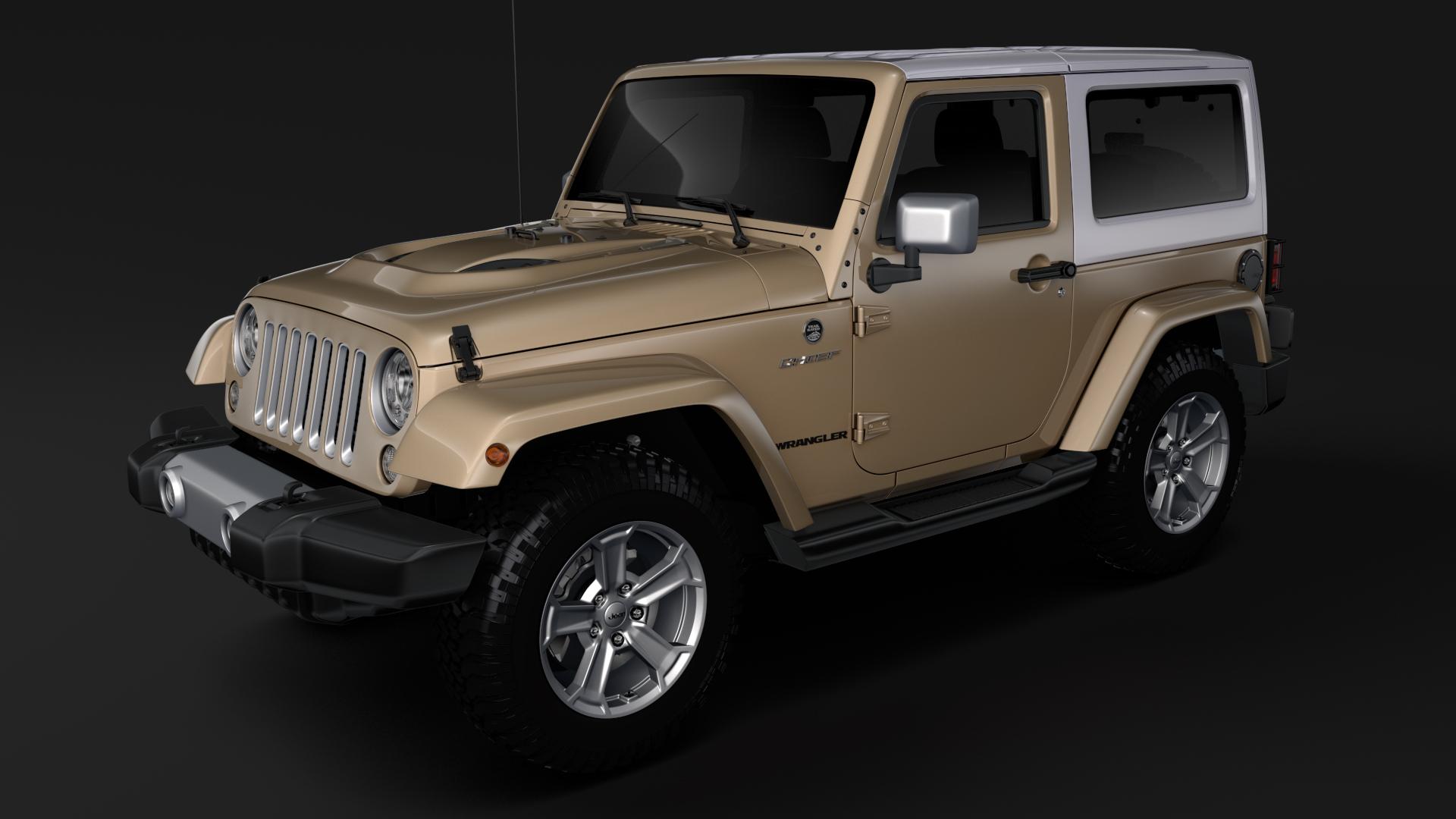 jeep wrangler chief jk 2017 3d model max fbx c4d lwo ma mb hrc xsi obj 276876