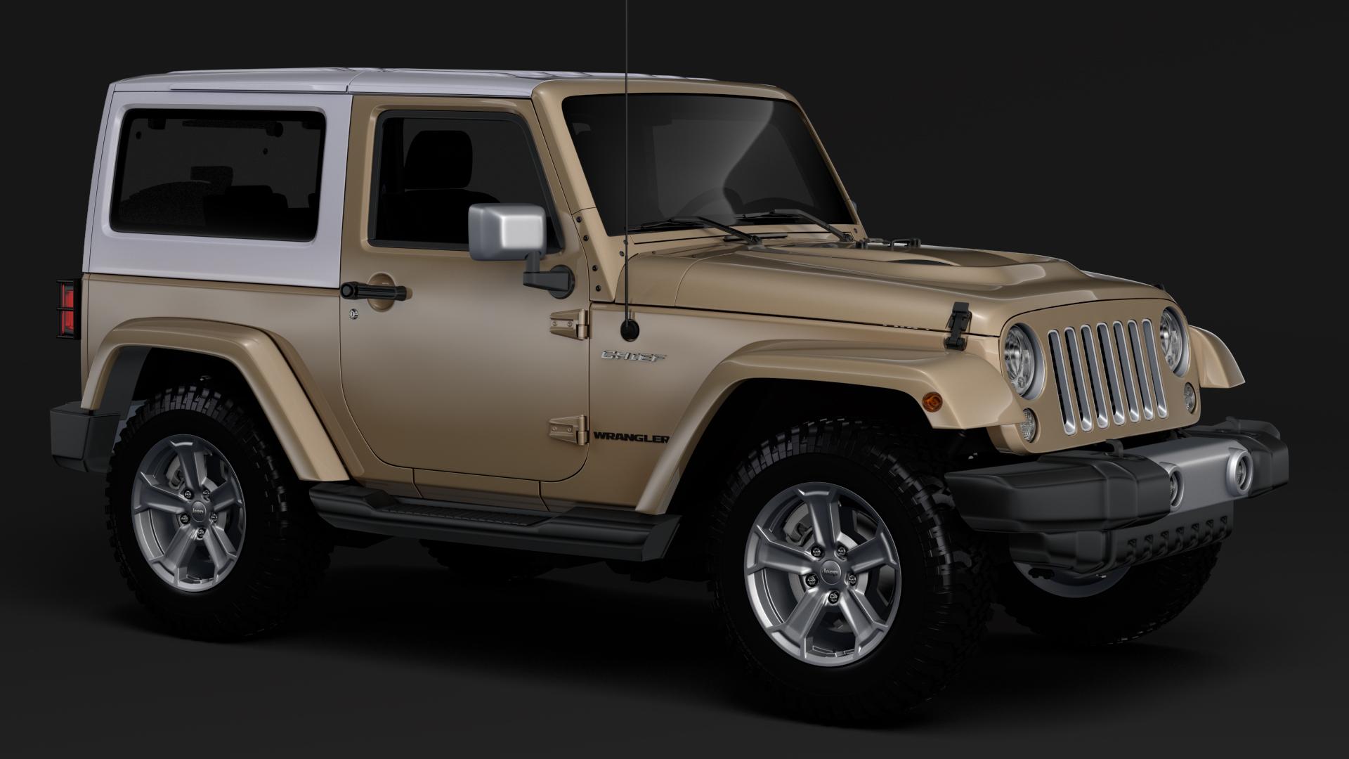 jeep wrangler chief jk 2017 3d model max fbx c4d lwo ma mb hrc xsi obj 276877
