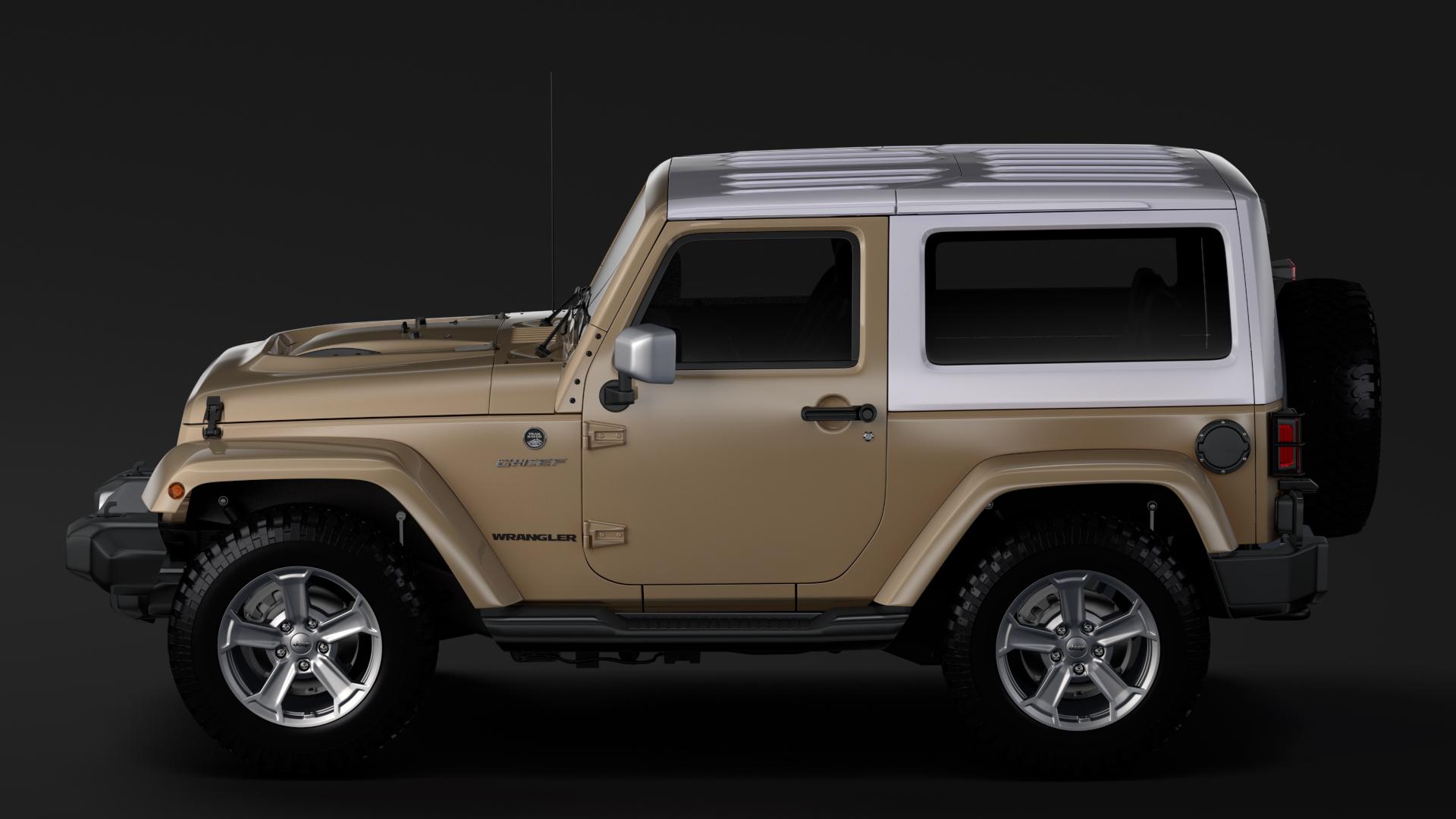 jeep wrangler chief jk 2017 3d model max fbx c4d lwo ma mb hrc xsi obj 276882