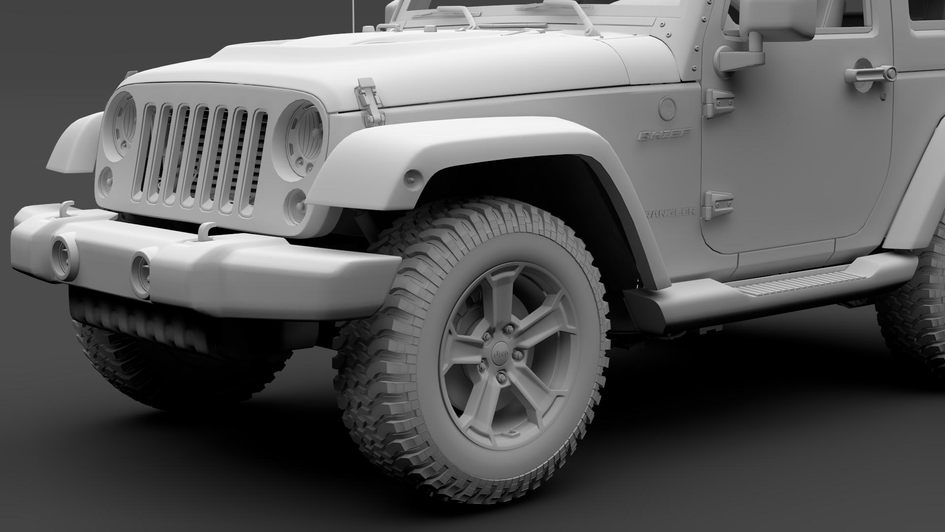 jeep wrangler chief jk 2017 3d model max fbx c4d lwo ma mb hrc xsi obj 276891