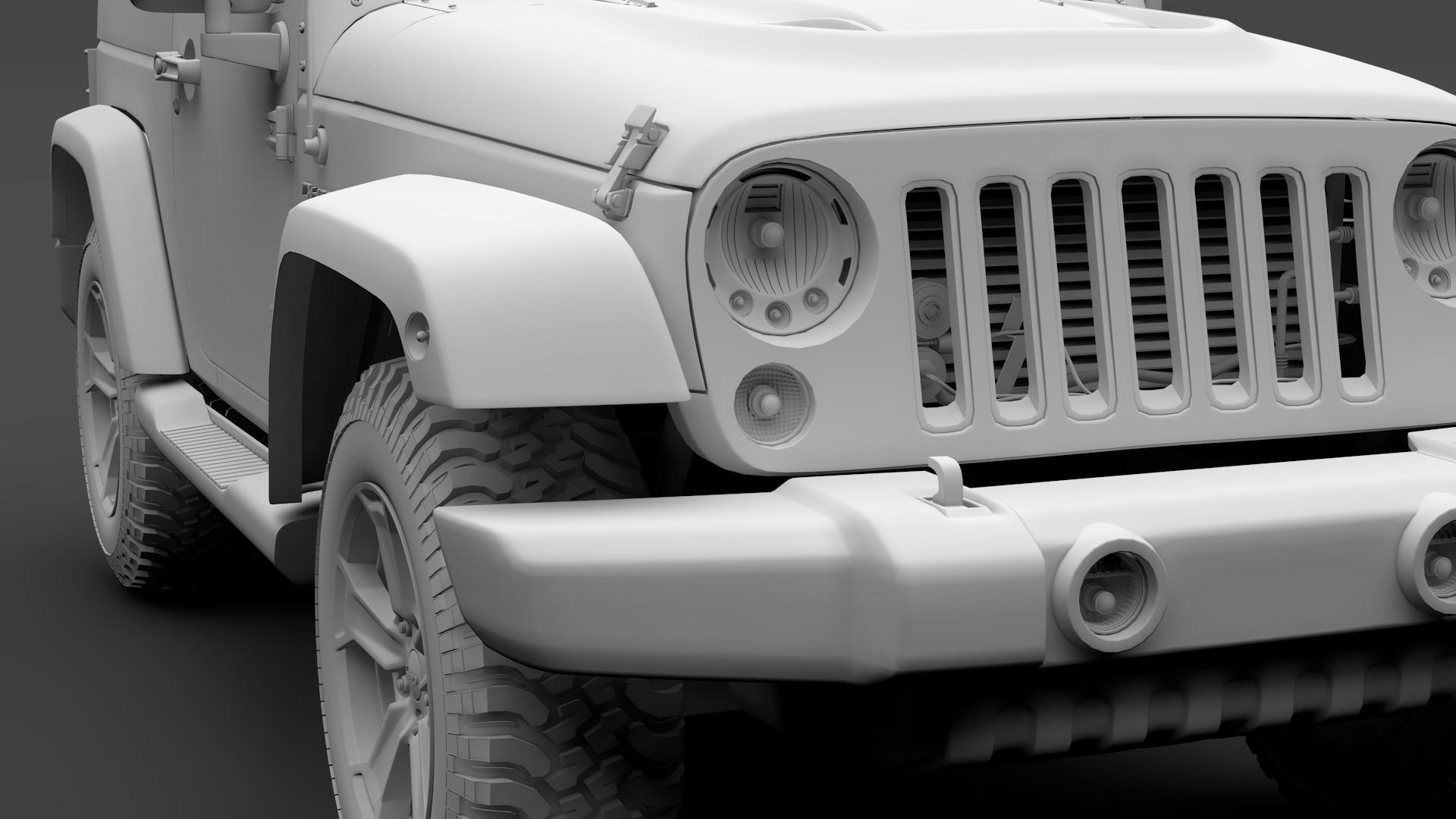 jeep wrangler chief jk 2017 3d model max fbx c4d lwo ma mb hrc xsi obj 276892