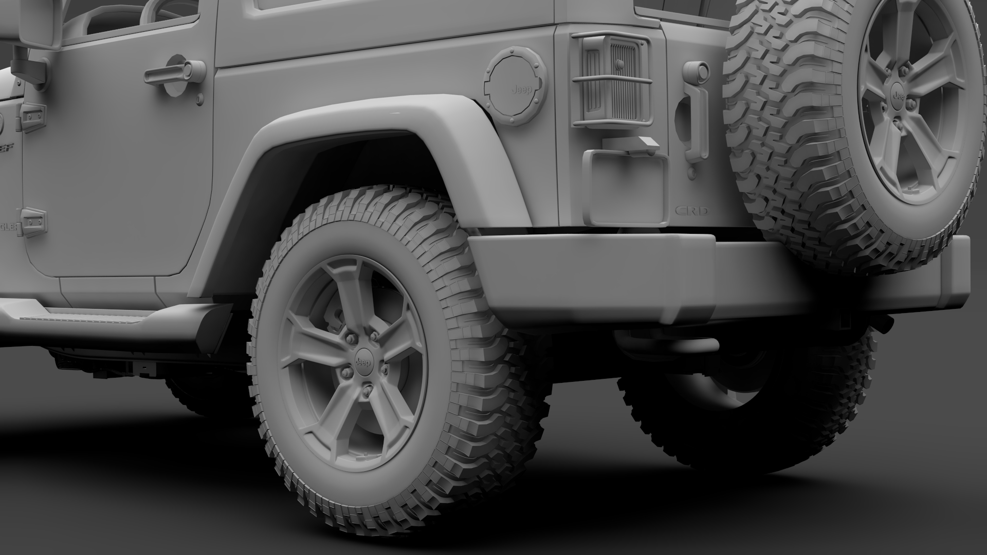 jeep wrangler chief jk 2017 3d model max fbx c4d lwo ma mb hrc xsi obj 276894