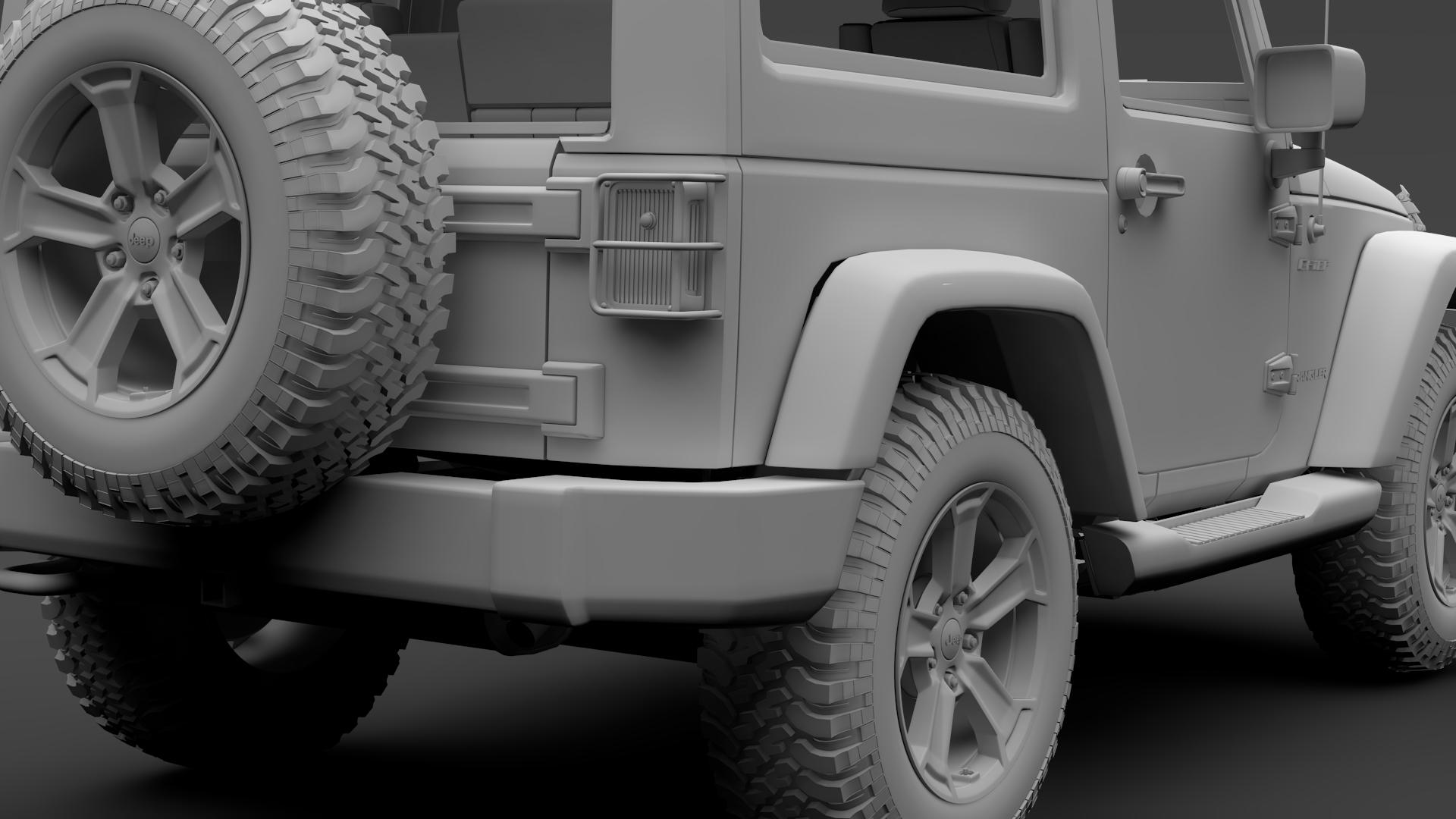 jeep wrangler chief jk 2017 3d model max fbx c4d lwo ma mb hrc xsi obj 276895
