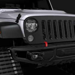Jeep Wrangler Crawler Rubicon Recon JK 2017 3d model 0