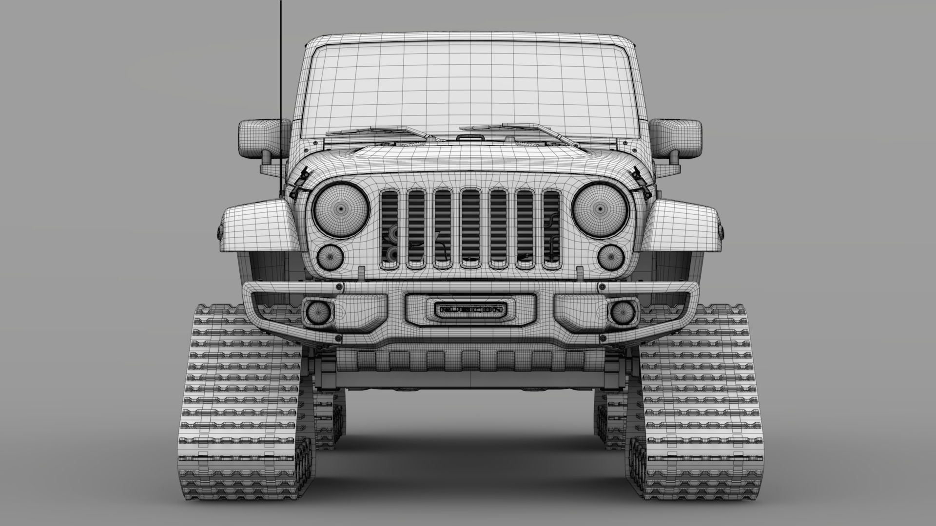 jeep wrangler crawler rubicon recon jk 2017 3d model max fbx c4d lwo ma mb hrc xsi obj 276920