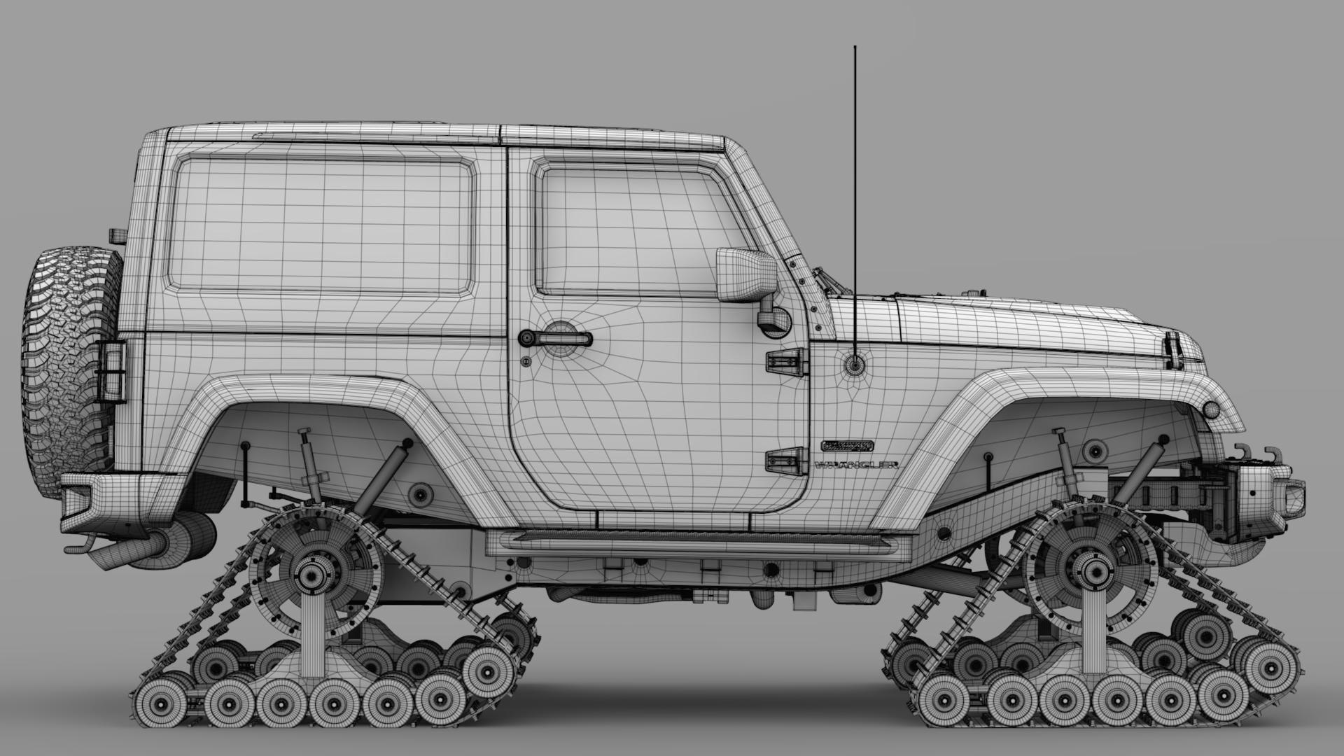 jeep wrangler crawler rubicon recon jk 2017 3d model max fbx c4d lwo ma mb hrc xsi obj 276921