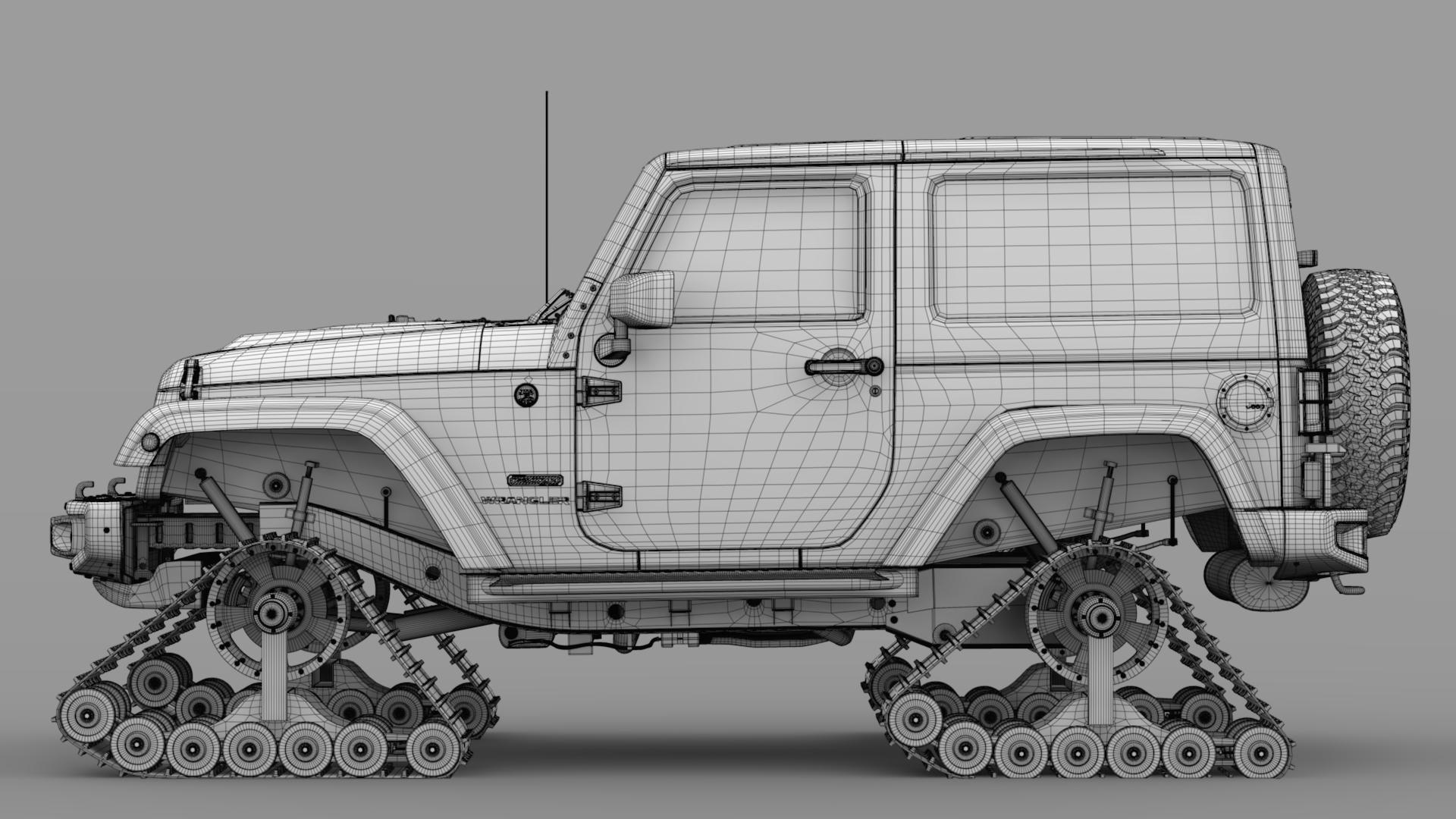jeep wrangler crawler rubicon recon jk 2017 3d model max fbx c4d lwo ma mb hrc xsi obj 276923