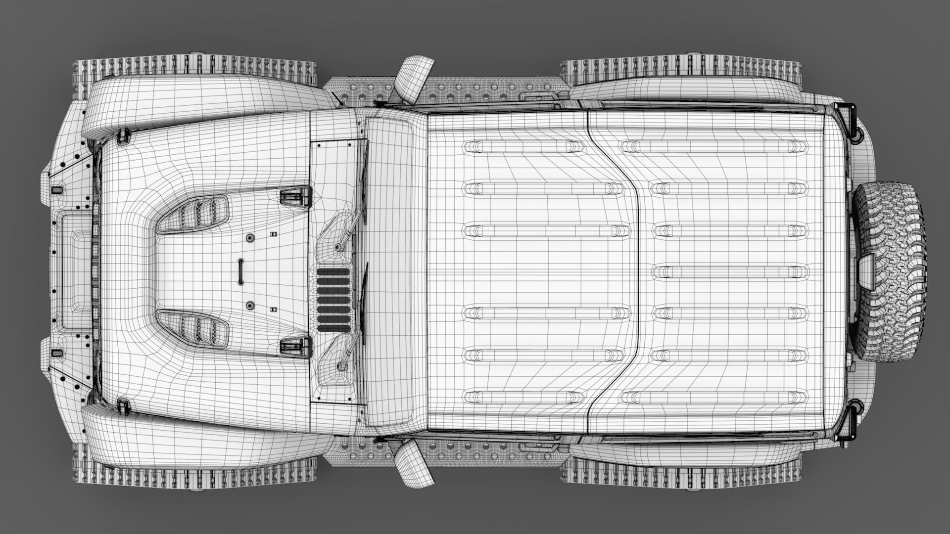 jeep wrangler crawler rubicon recon jk 2017 3d model max fbx c4d lwo ma mb hrc xsi obj 276924