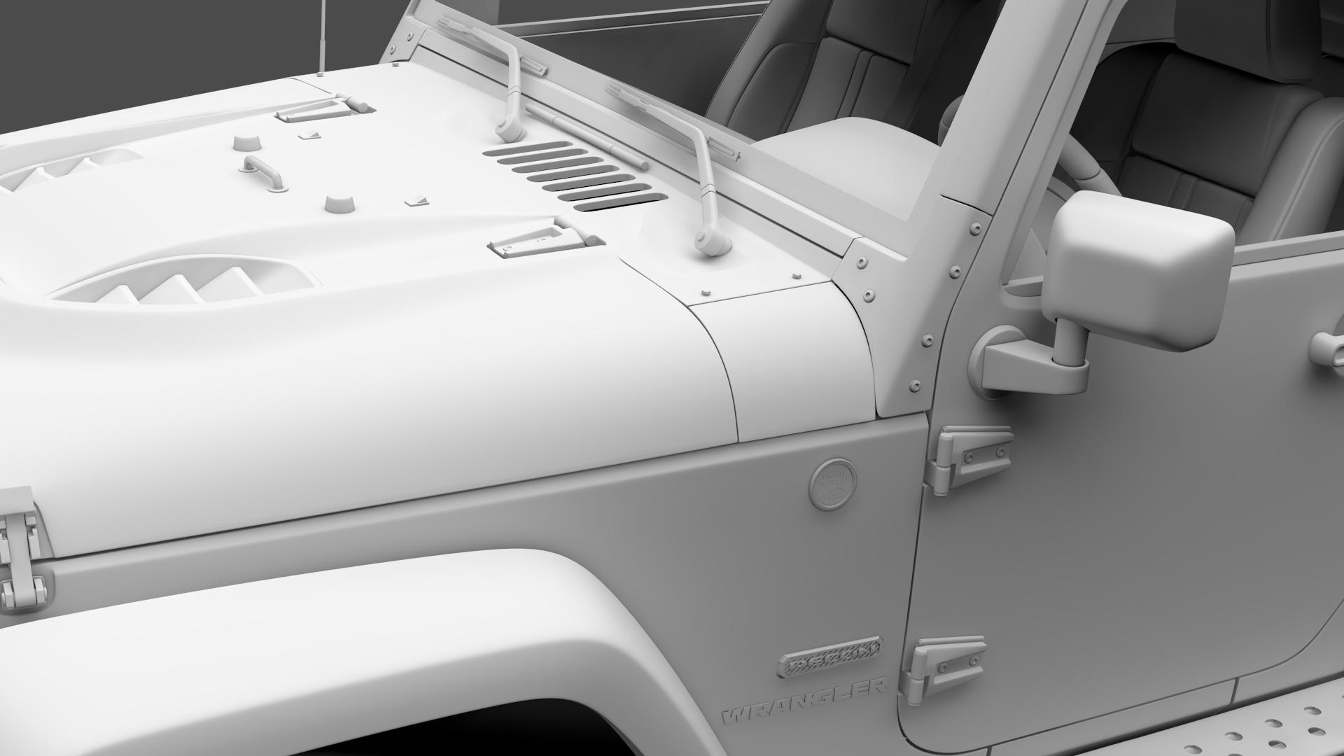 jeep wrangler crawler rubicon recon jk 2017 3d model max fbx c4d lwo ma mb hrc xsi obj 276927