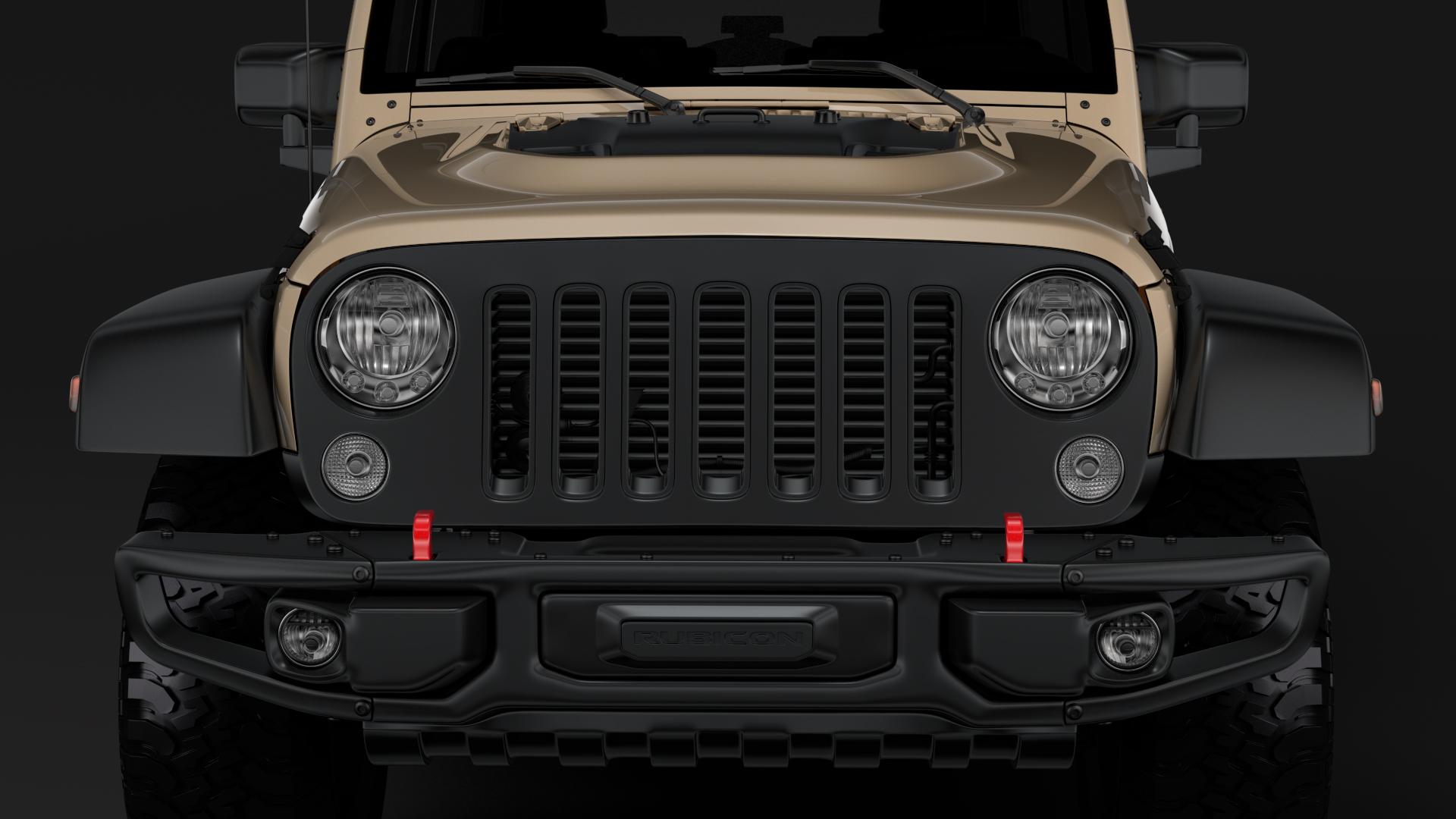 jeep wrangler rubicon recon jk 2017 3d model max fbx lwo ma mb hrc xsi obj 276942