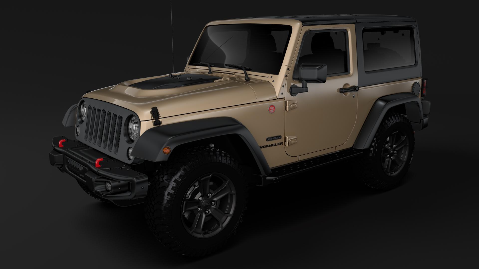 jeep wrangler rubicon recon jk 2017 3d model max fbx lwo ma mb hrc xsi obj 276943