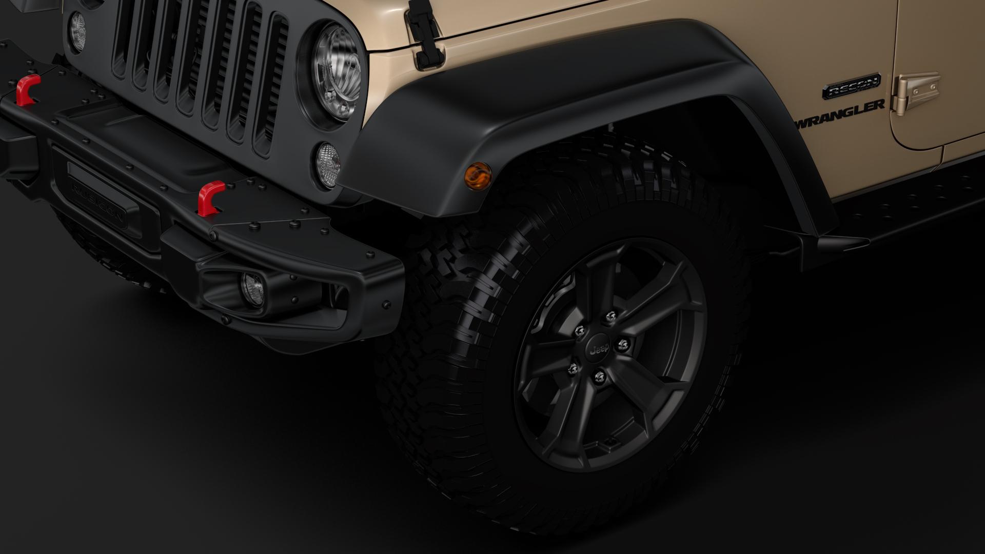 jeep wrangler rubicon recon jk 2017 3d model max fbx lwo ma mb hrc xsi obj 276944