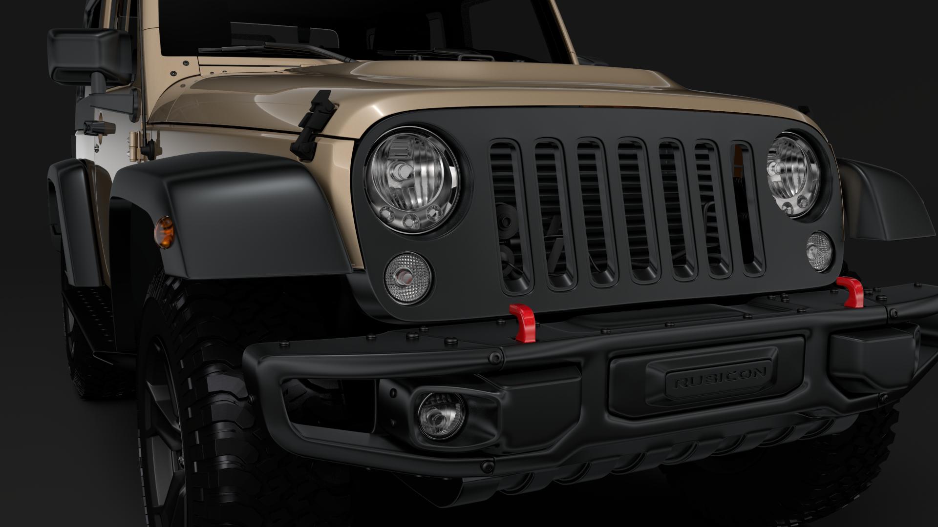 jeep wrangler rubicon recon jk 2017 3d model max fbx lwo ma mb hrc xsi obj 276945