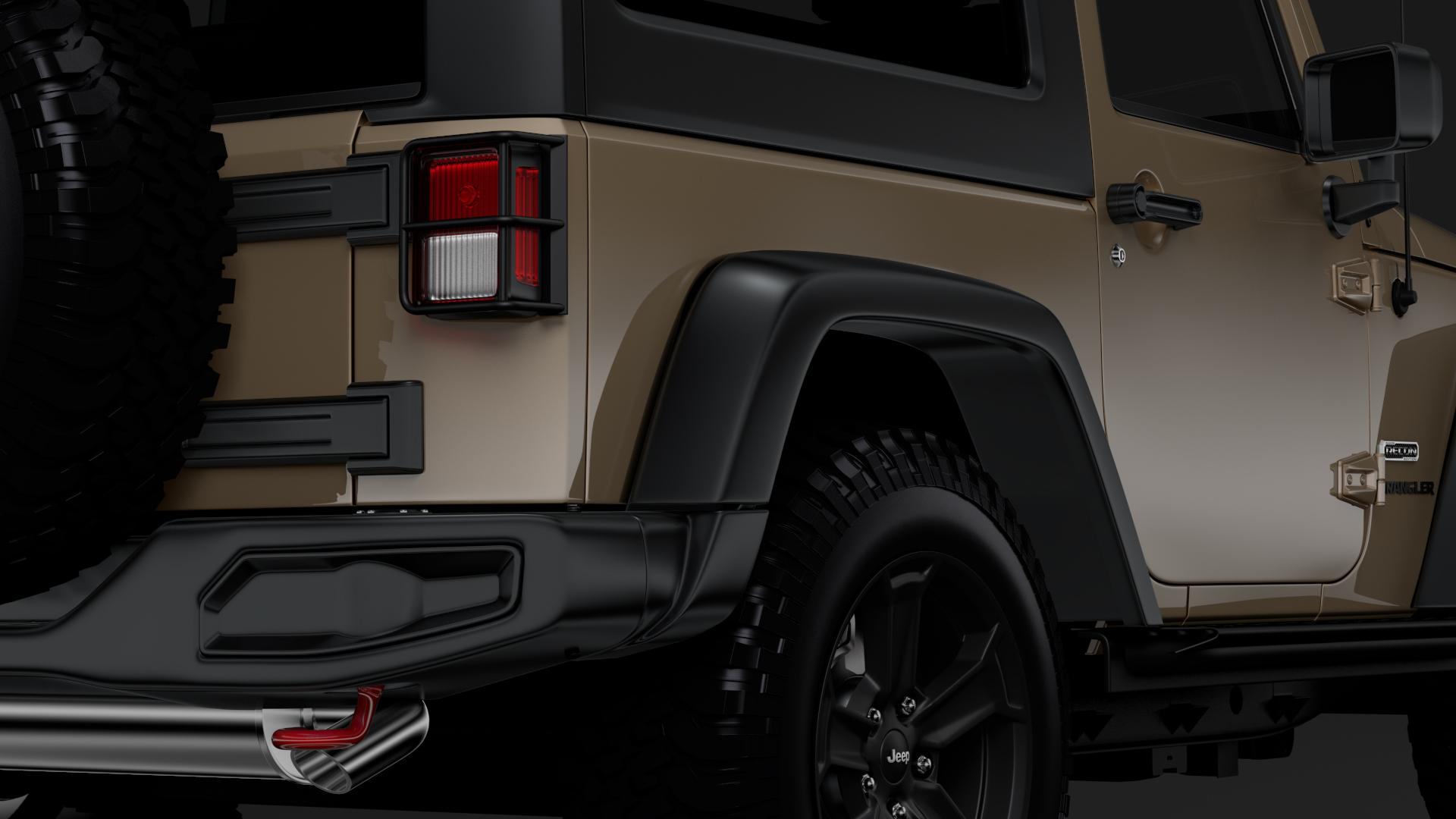 jeep wrangler rubicon recon jk 2017 3d model max fbx lwo ma mb hrc xsi obj 276948