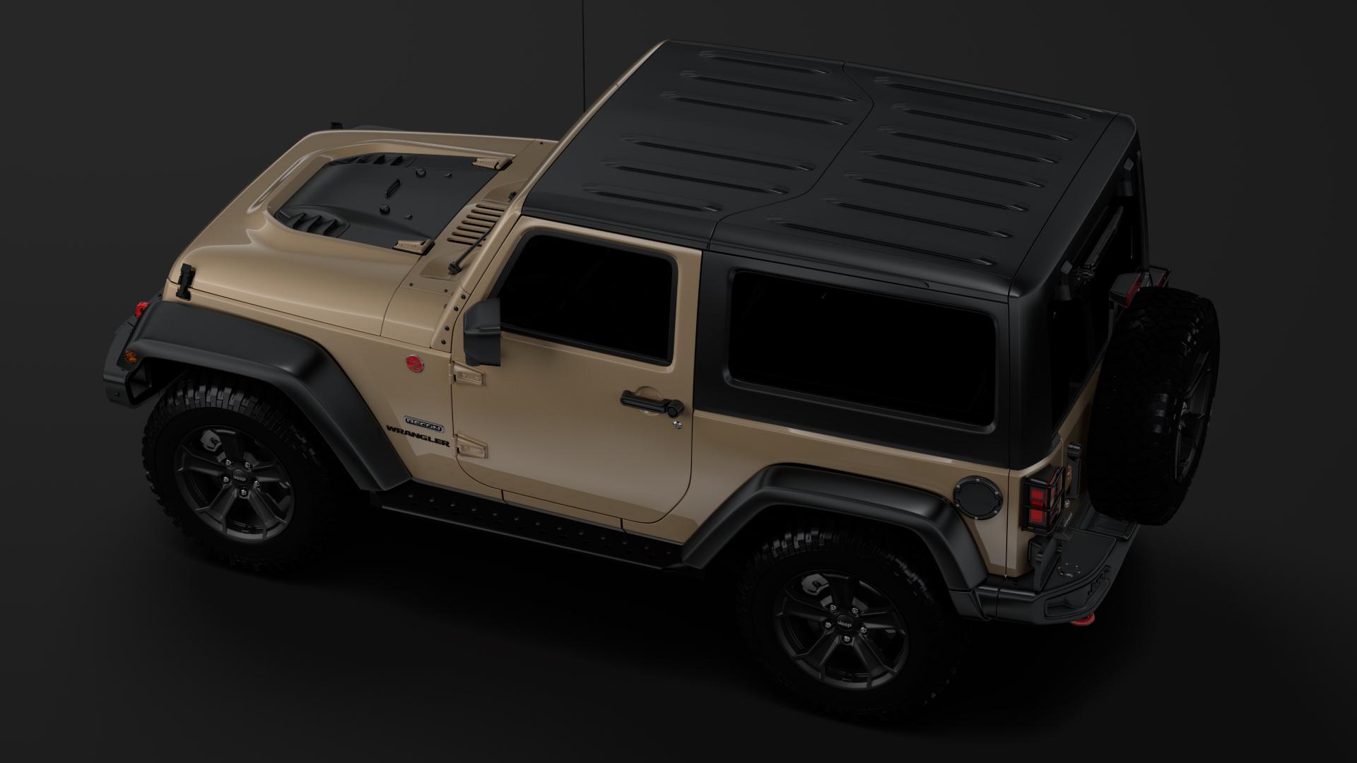 jeep wrangler rubicon recon jk 2017 3d model max fbx lwo ma mb hrc xsi obj 276951