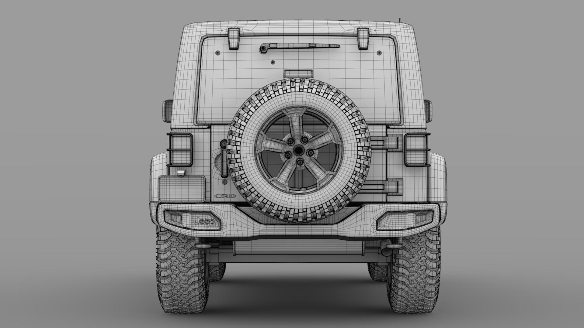 jeep wrangler rubicon recon jk 2017 3d model max fbx lwo ma mb hrc xsi obj 276954