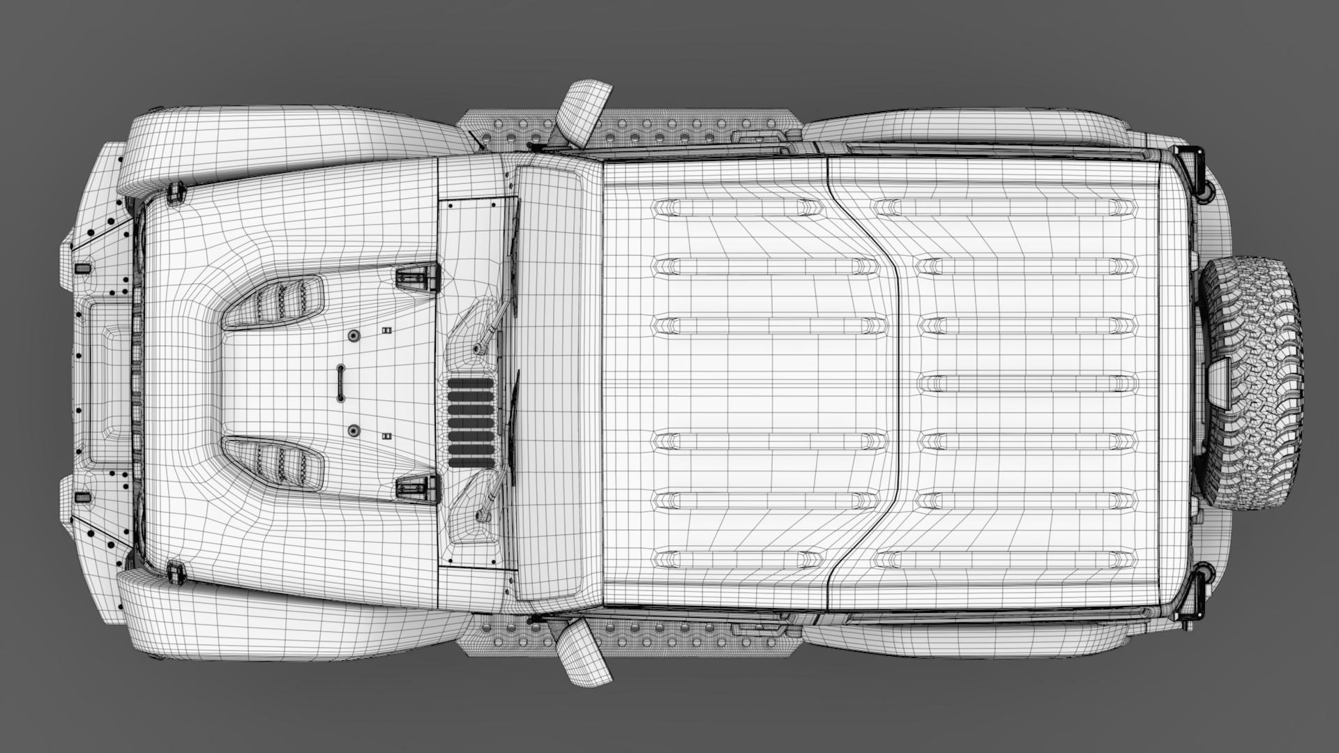 jeep wrangler rubicon recon jk 2017 3d model max fbx lwo ma mb hrc xsi obj 276956