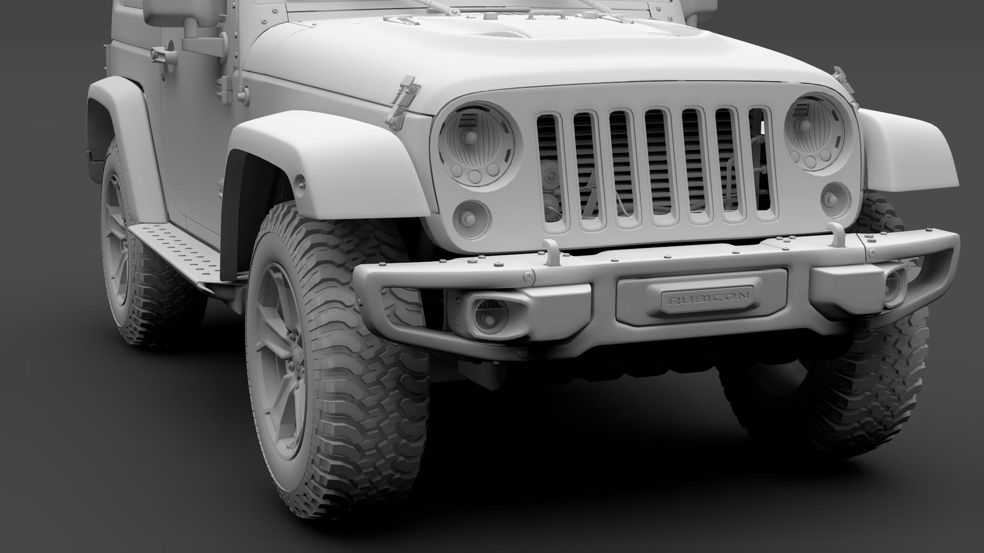 jeep wrangler rubicon recon jk 2017 3d model max fbx lwo ma mb hrc xsi obj 276957