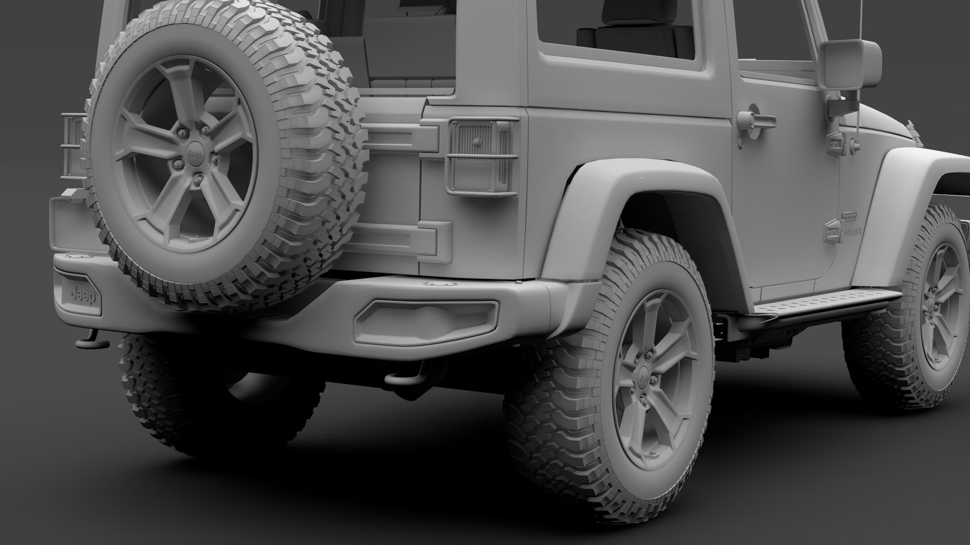 jeep wrangler rubicon recon jk 2017 3d model max fbx lwo ma mb hrc xsi obj 276959