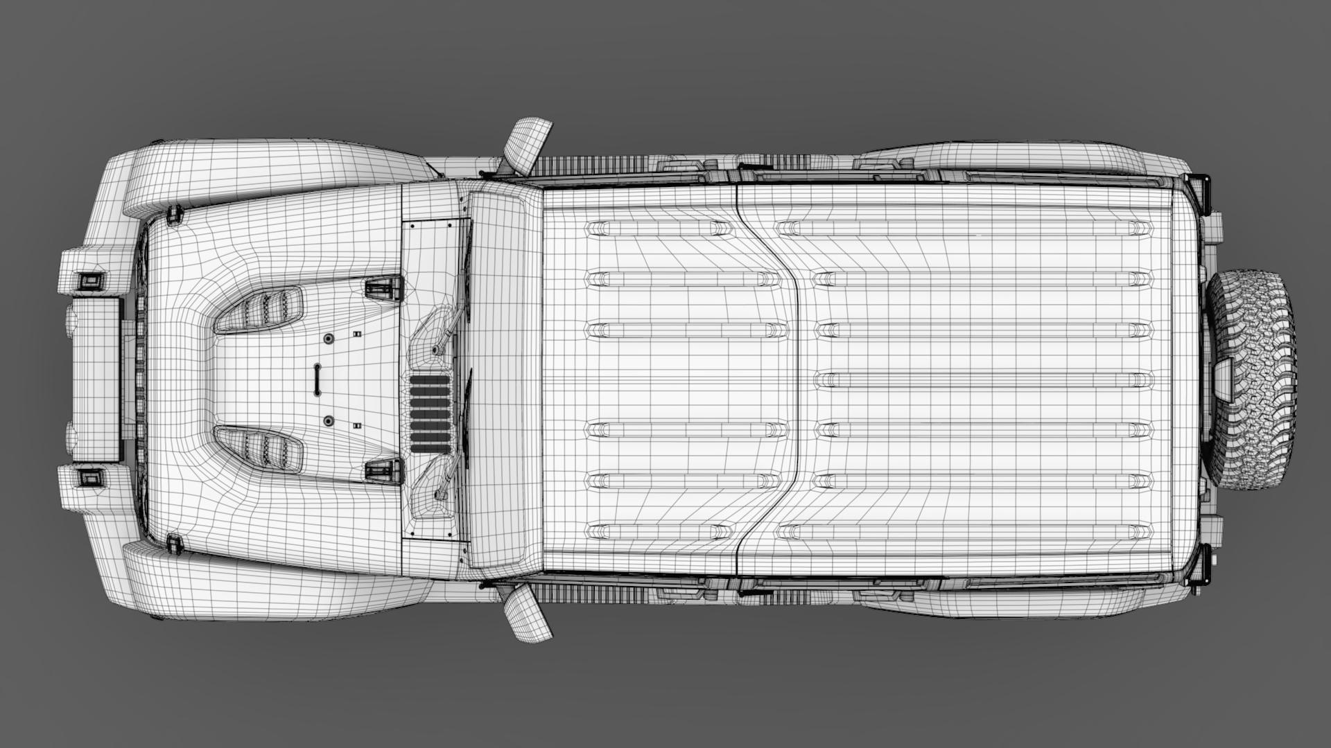 jeep wrangler unlimited chief jk 2017 3d model max fbx c4d lwo ma mb hrc xsi obj 276984