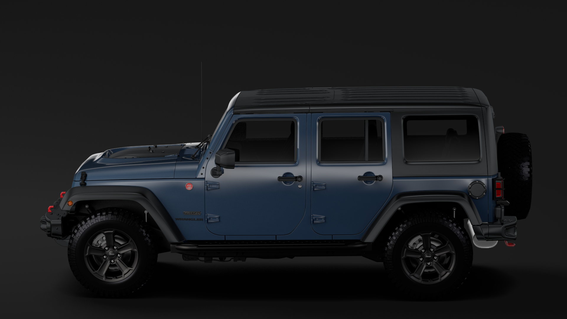 jeep wrangler unlimited rubicon recon jk 2017 3d model max fbx c4d lwo ma mb hrc xsi obj 277002