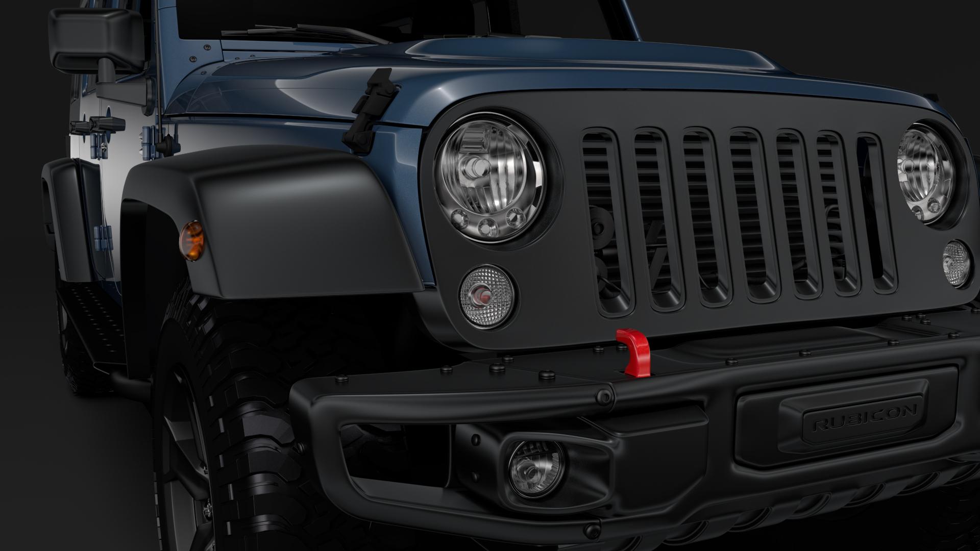 jeep wrangler unlimited rubicon recon jk 2017 3d model max fbx c4d lwo ma mb hrc xsi obj 277005