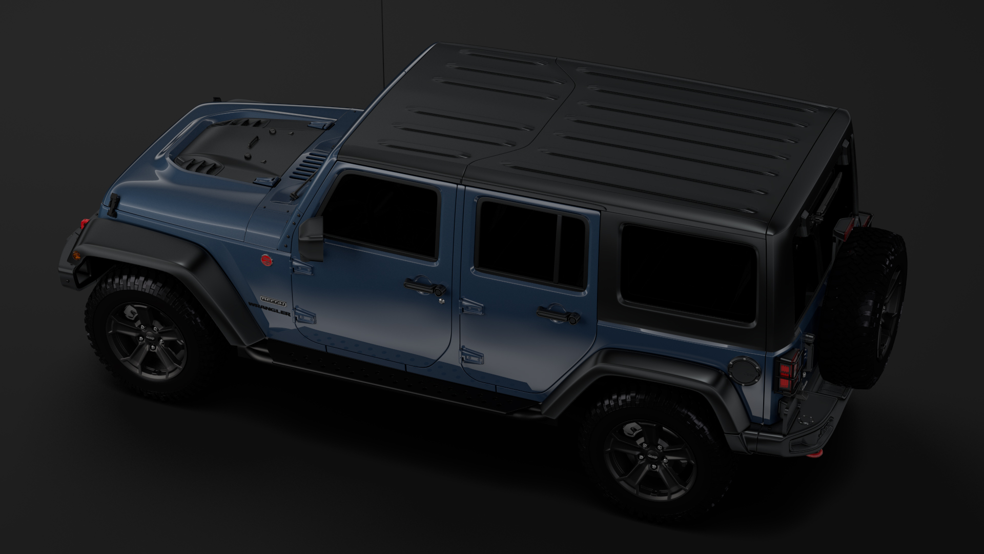 jeep wrangler unlimited rubicon recon jk 2017 3d model max fbx c4d lwo ma mb hrc xsi obj 277007