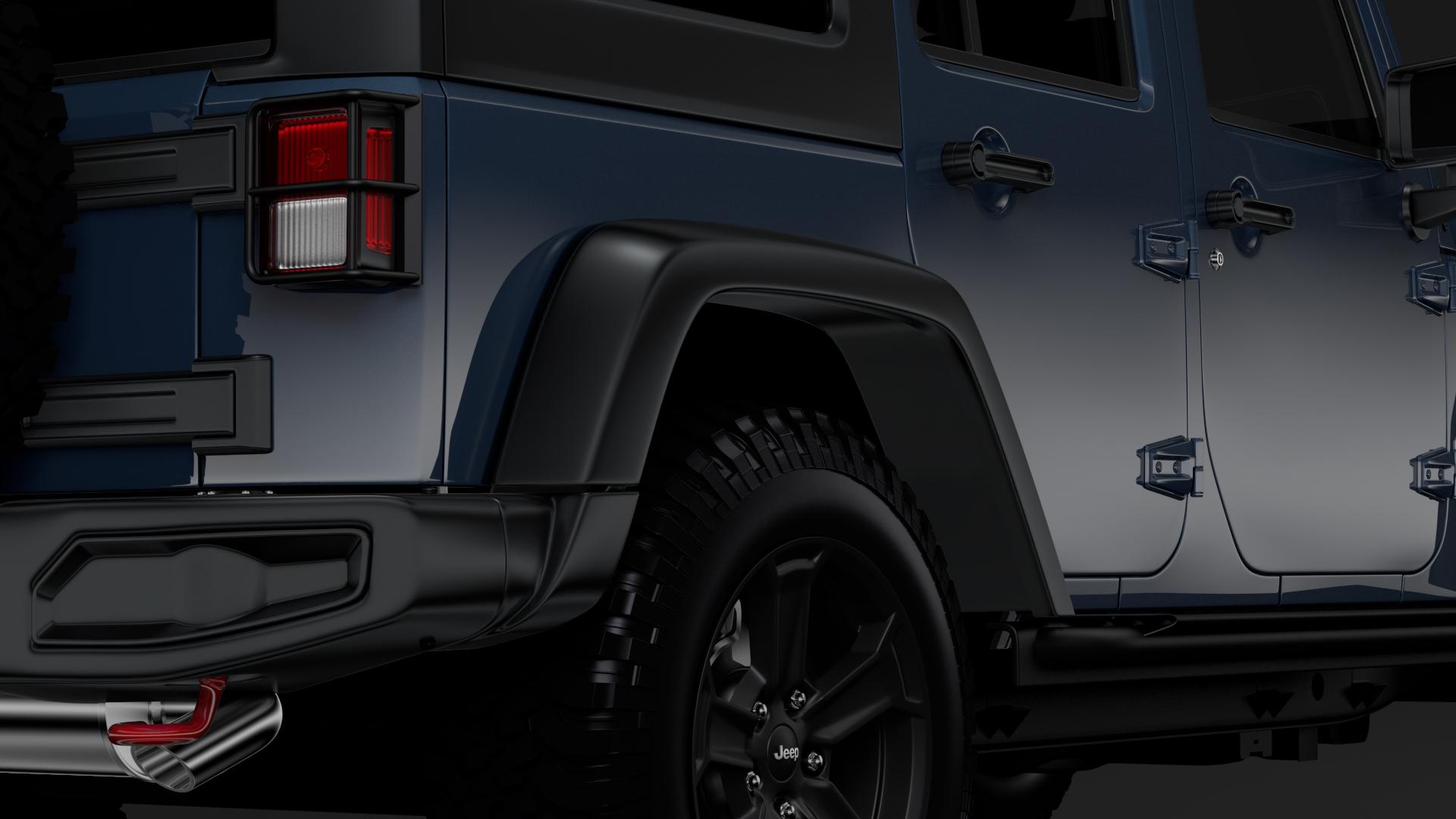 jeep wrangler unlimited rubicon recon jk 2017 3d model max fbx c4d lwo ma mb hrc xsi obj 277009